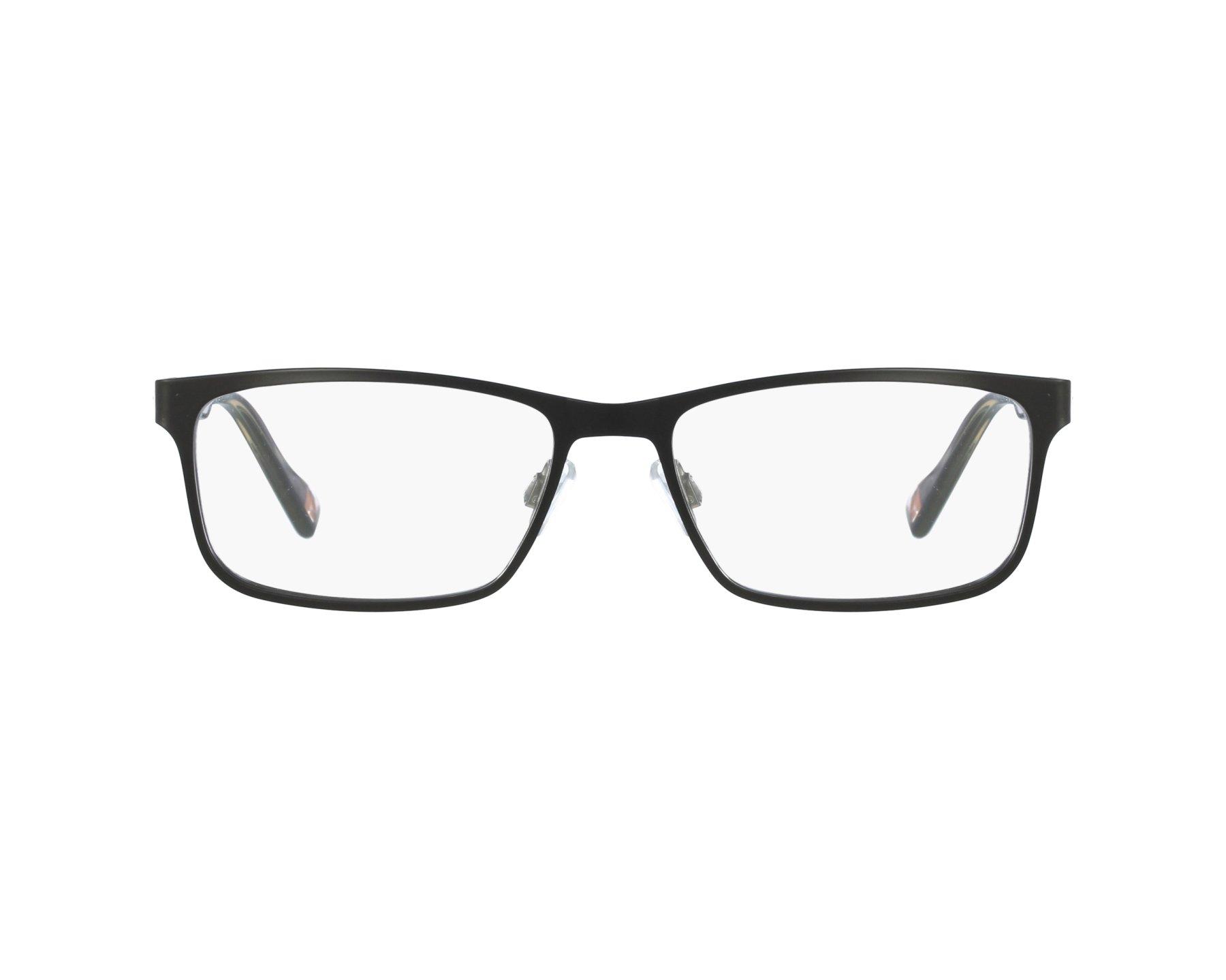 1a4e968b037 eyeglasses Boss Orange BO-0151 6SO 53-17 Black profile view