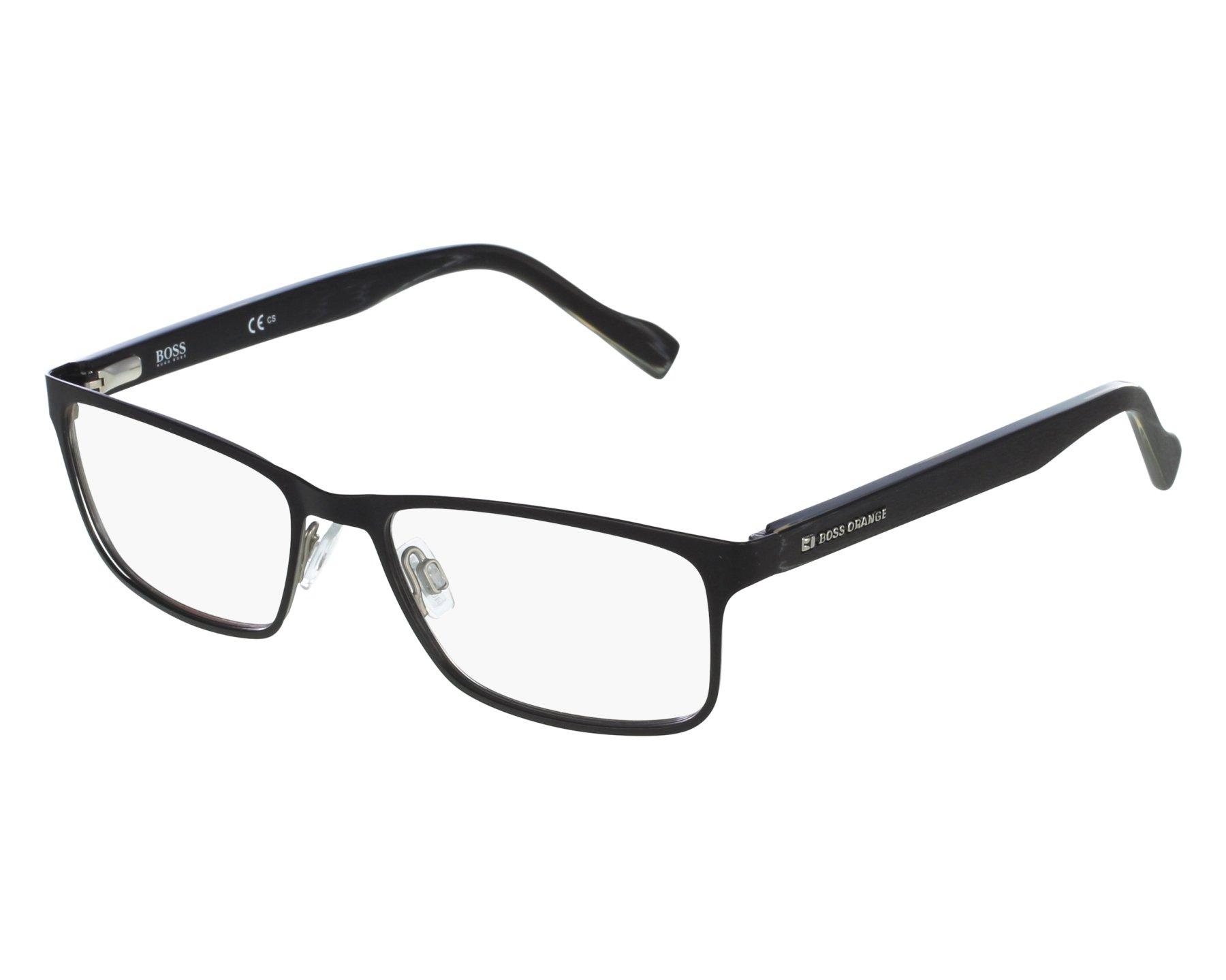 2f50db4b7d1 eyeglasses Boss Orange BO-0151 6SO 53-17 Black front view