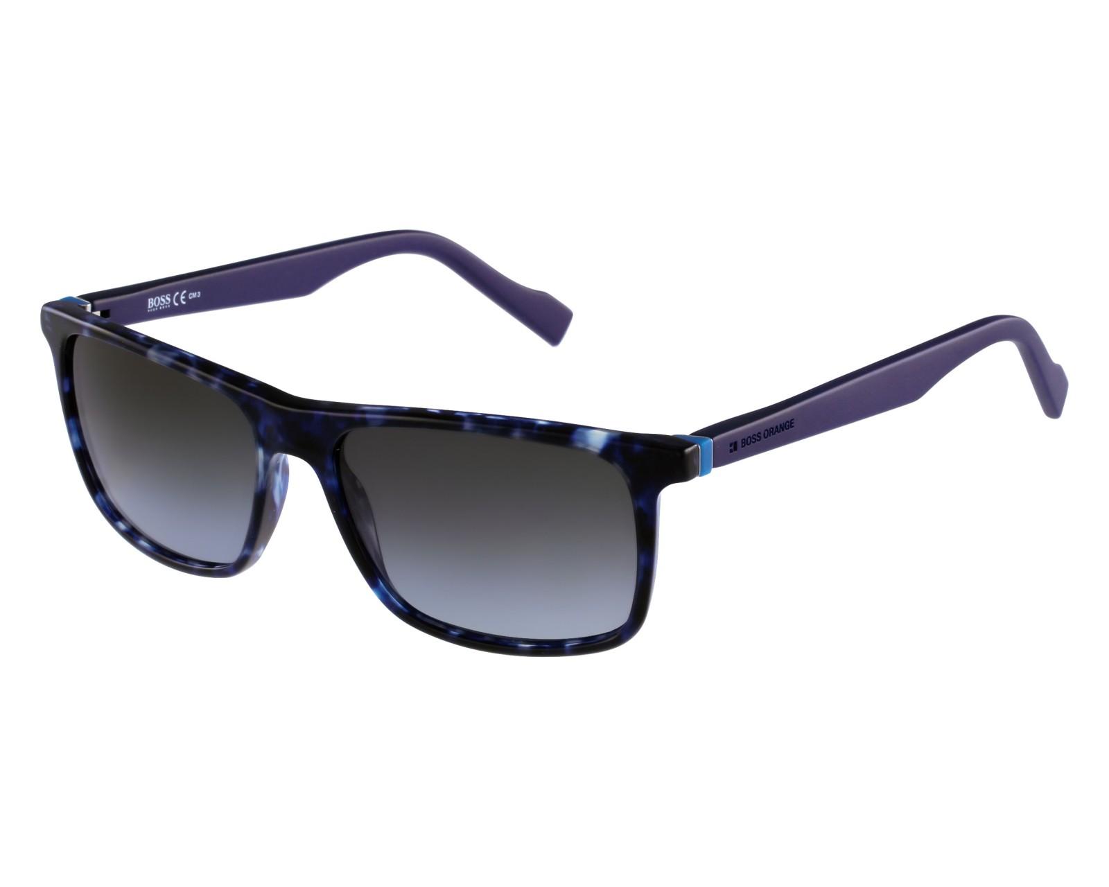 750a8a6061 Sunglasses Boss Orange BO-0174-S JIY PT 55-16 Blue front