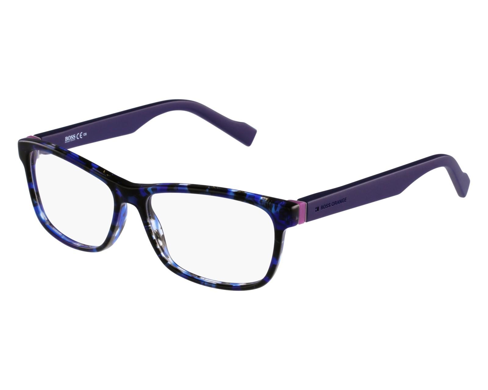 ca378aab0d eyeglasses Boss Orange BO-0181 K1S 54-14 Blue Blue front view
