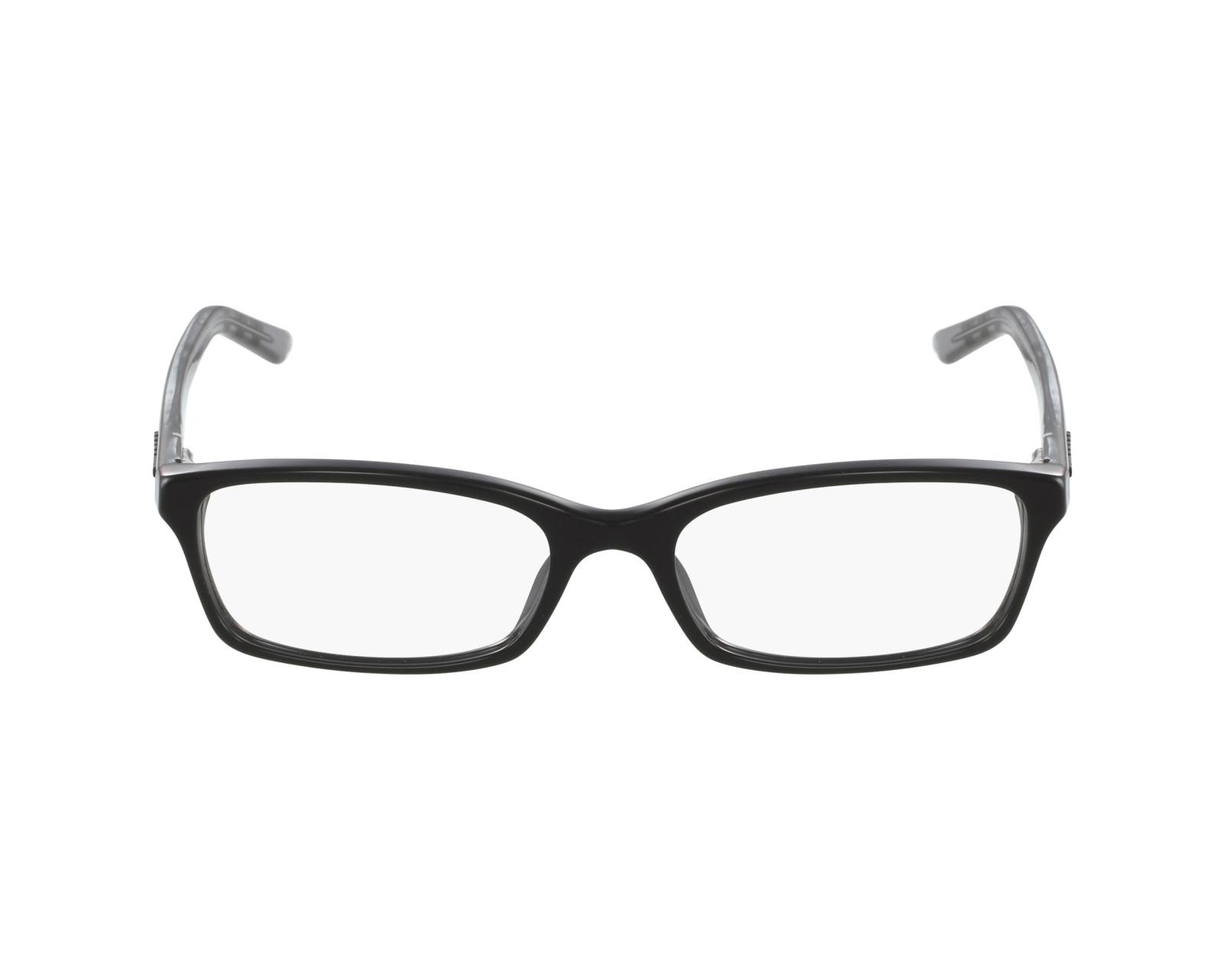 f19f841e51ff1 eyeglasses Burberry BE-2073 3164 - Black Black profile view