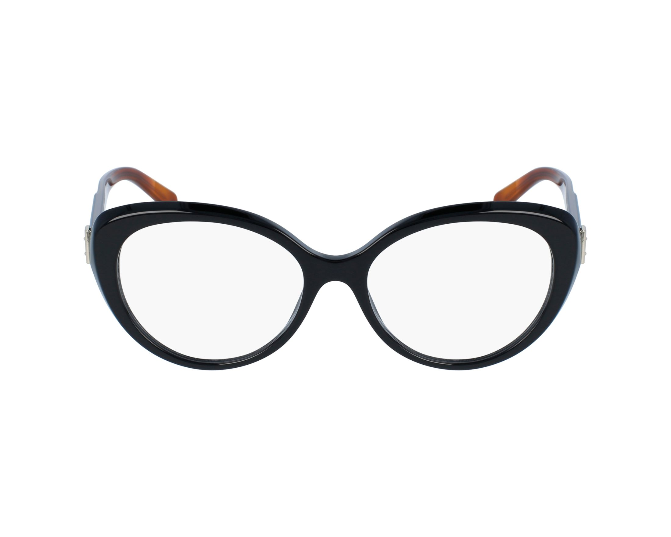 fdf0acc5f12 eyeglasses Burberry BE-2251 3637 53-16 Black Brown profile view