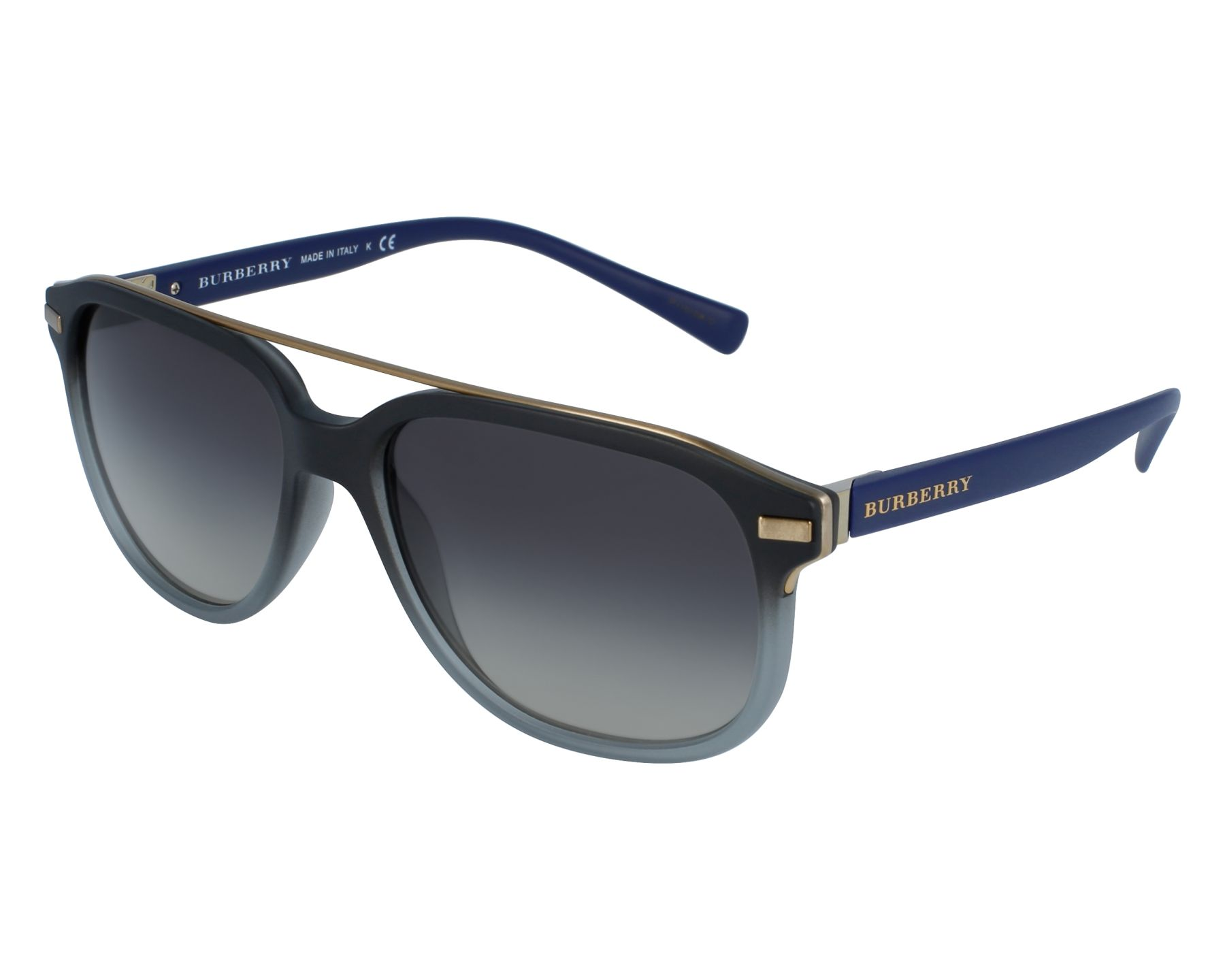aa43fd9076c Sunglasses Burberry BE-4233 3630 11 - Grey Blue front view