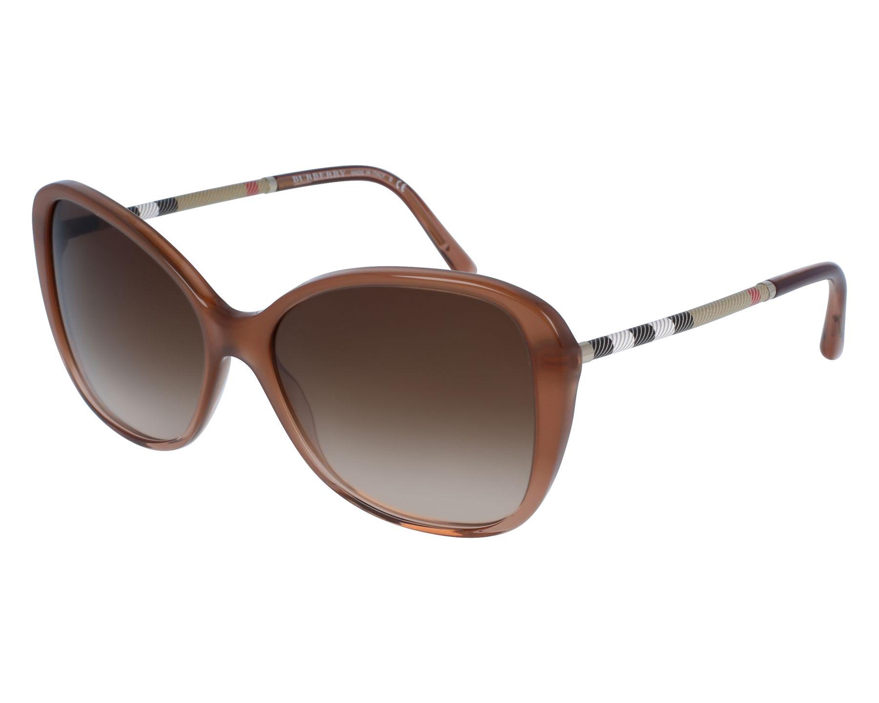 Burberry Sonnenbrille Be4235, UV 400, rot
