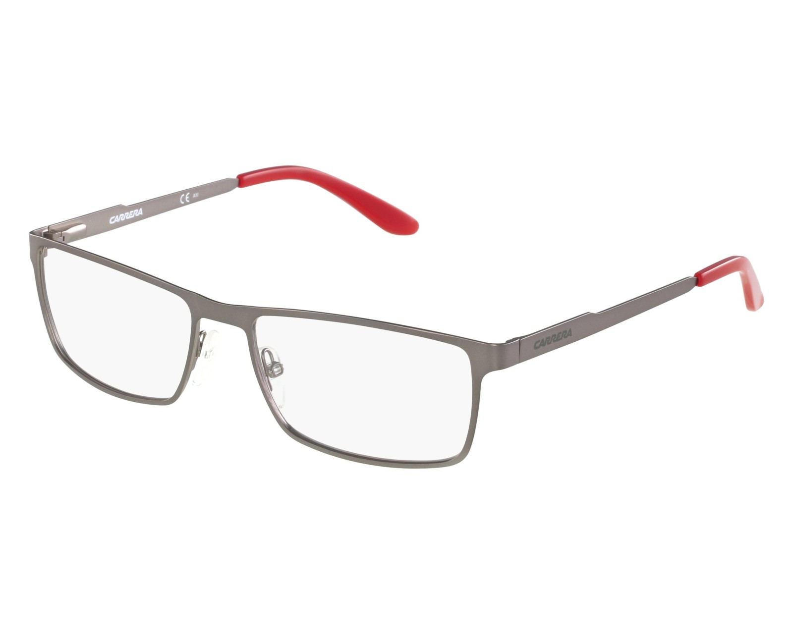 d60e2b5a48 eyeglasses Carrera CA-6630 R80 54-17 Silver Red front view
