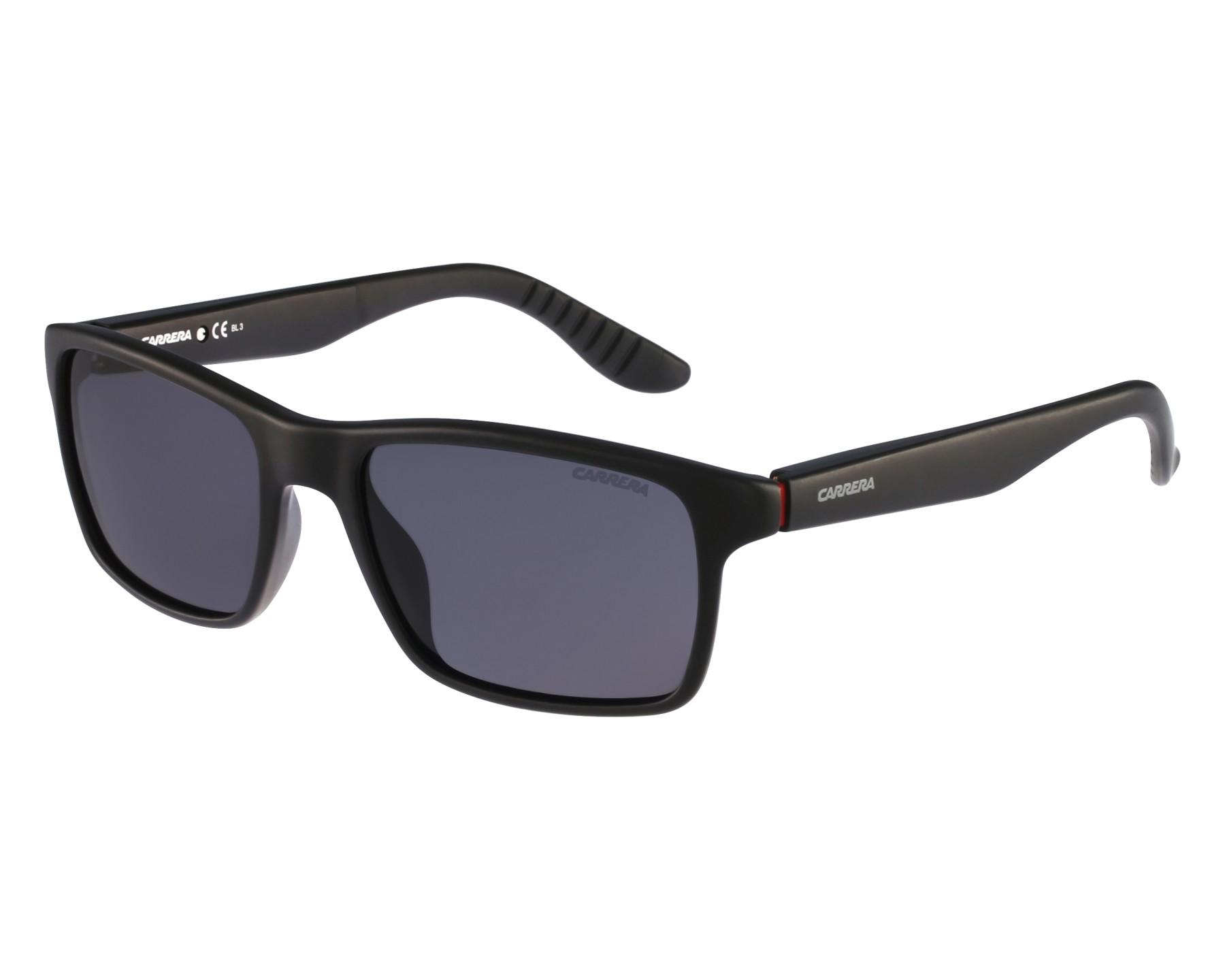 3787528a19962 Sunglasses Carrera 8002 DL5 TD - Black front view