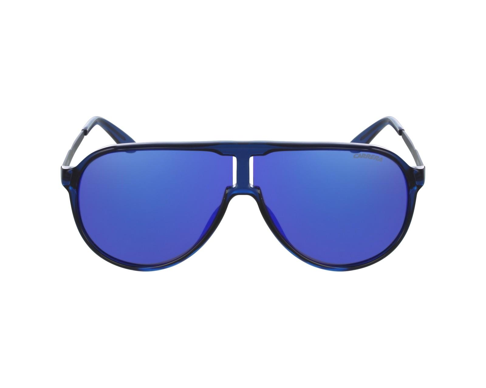 36462d80db6bec Sunglasses Carrera New-Champion 8FS Z0 - Blue Stone profile view