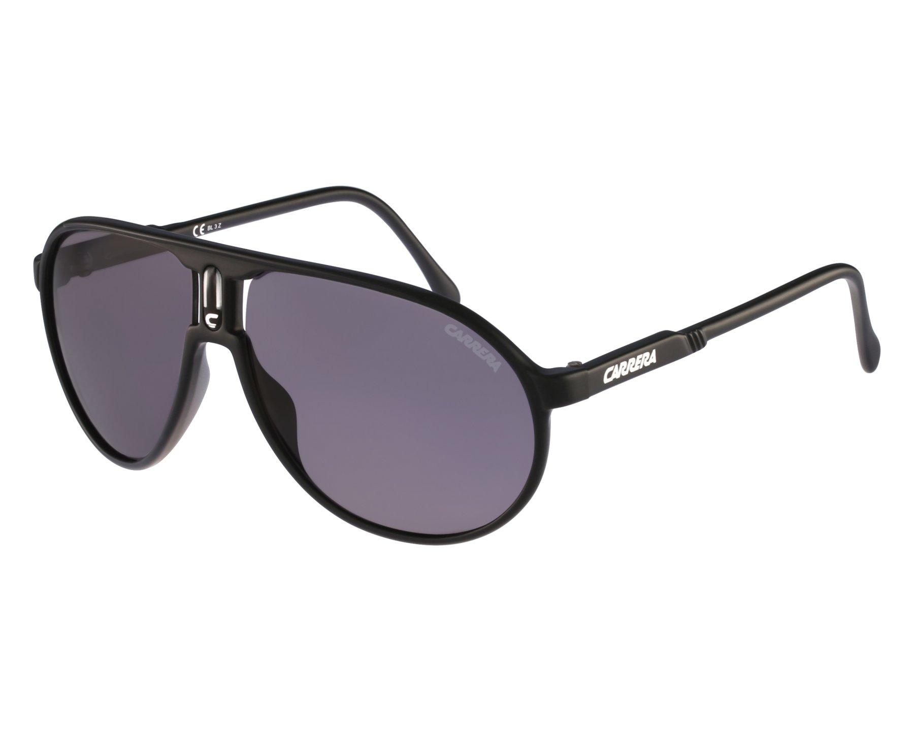 e60601af366 Sunglasses Carrera Champion DL5 3H - Black front view