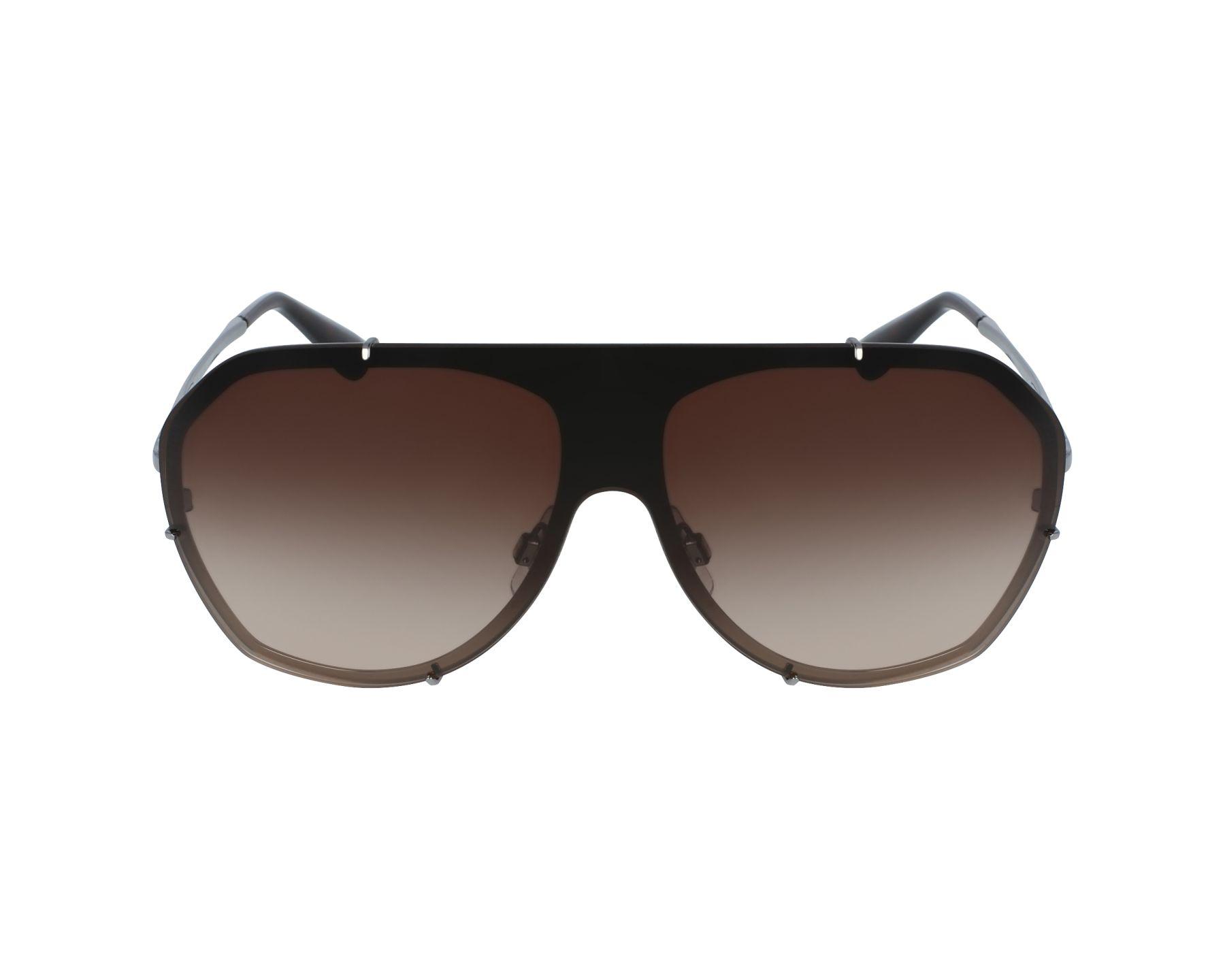 Sunglasses Dolce & Gabbana DG-2162 04/13 62-17 Silver Gun profile