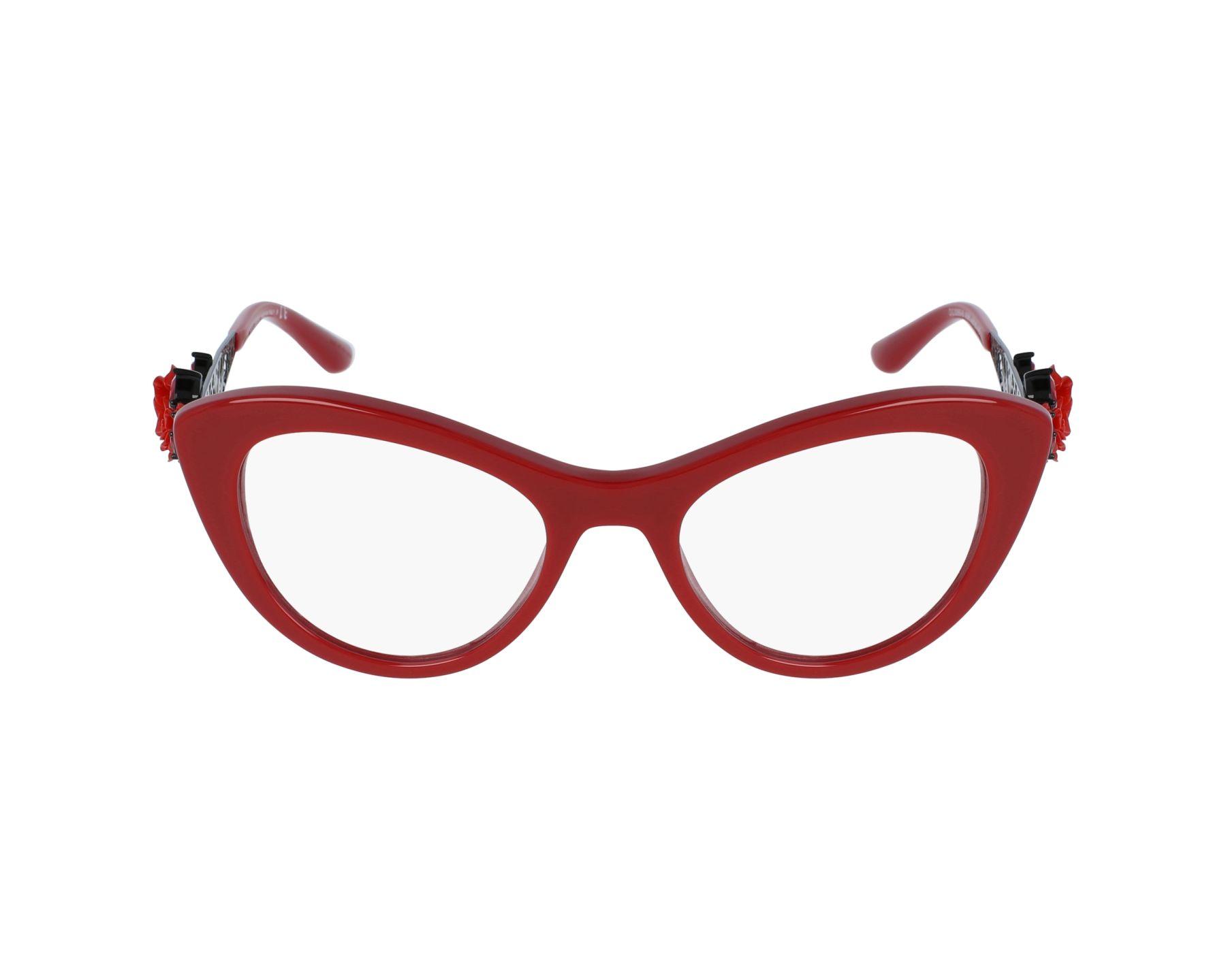 Dolce & Gabbana Eyeglasses Red DG-3265-B 3088 - Visionet US