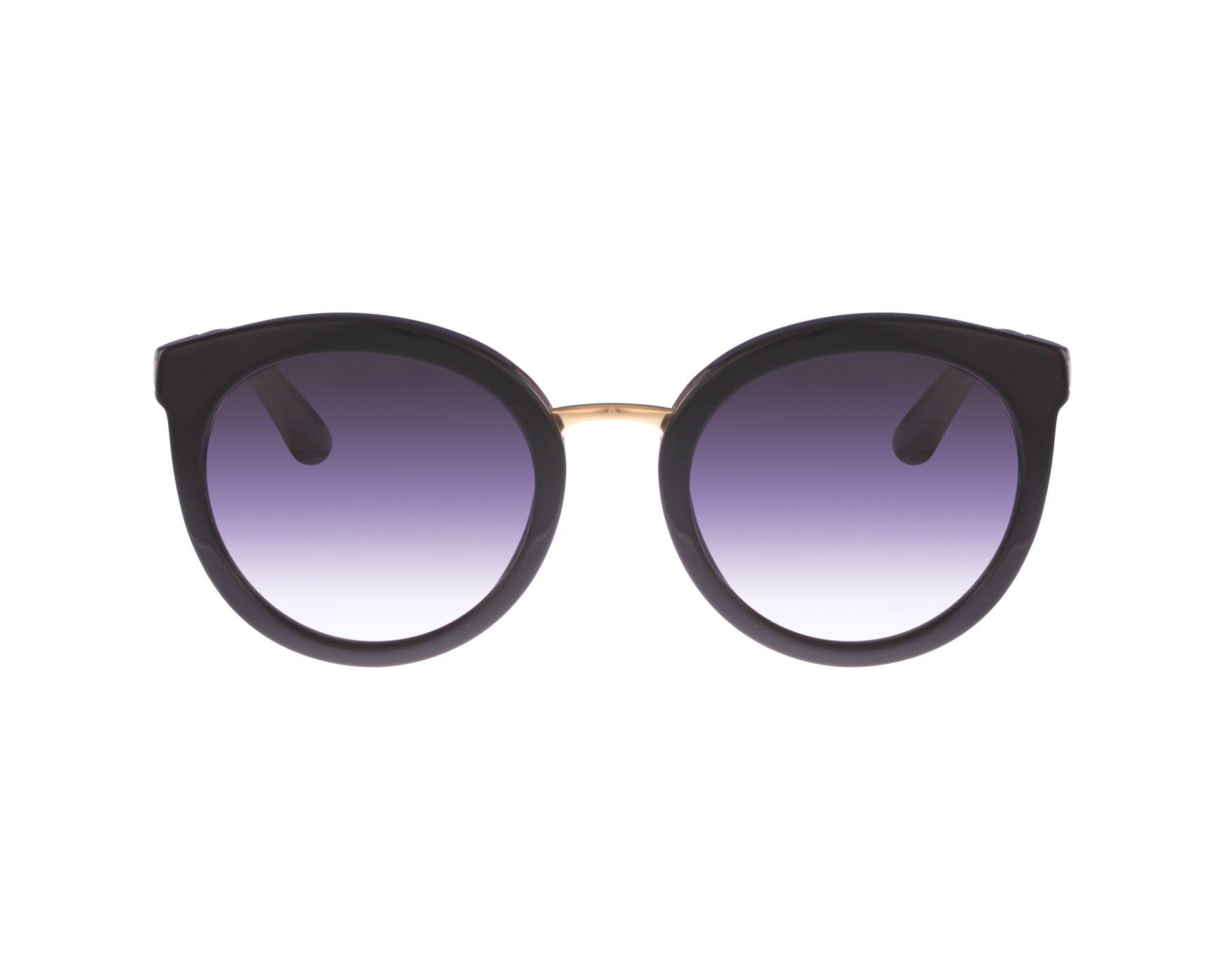 e03ca0c12d0 Sunglasses Dolce   Gabbana DG-4268 501 8G 52-22 Black Gold profile