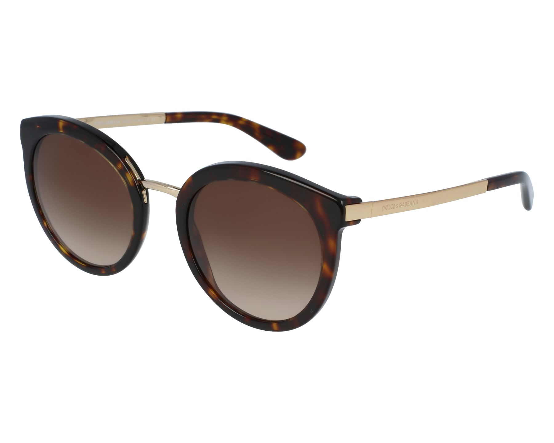 c30f87f1df Sunglasses Dolce   Gabbana DG-4268 502 13 52-22 Brown Gold front