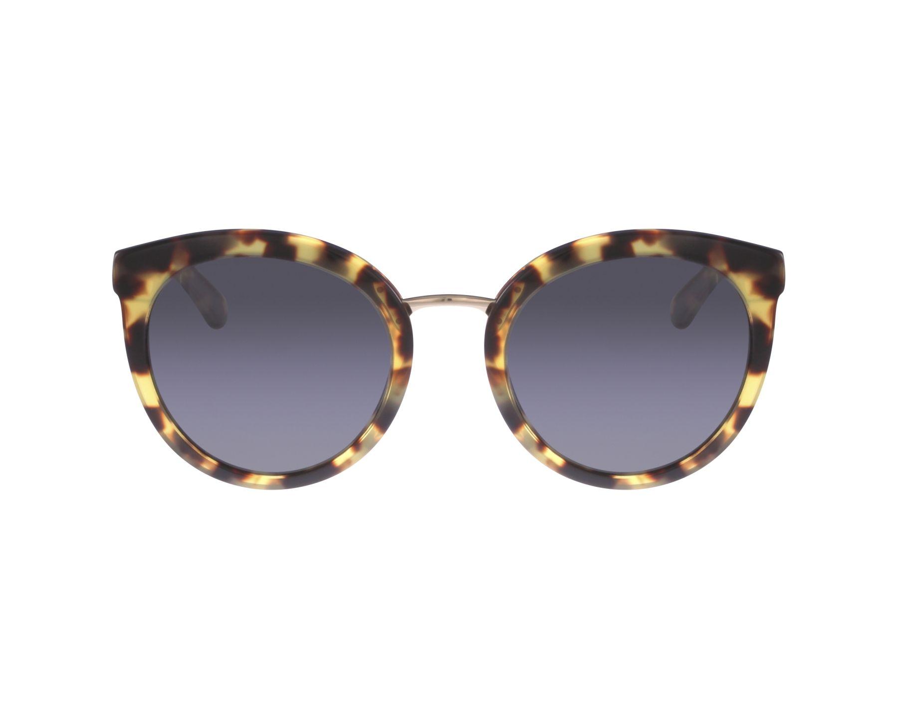 4254f43b6b thumbnail Sunglasses Dolce   Gabbana DG-4268 512 87 - Havana Gold profile  view
