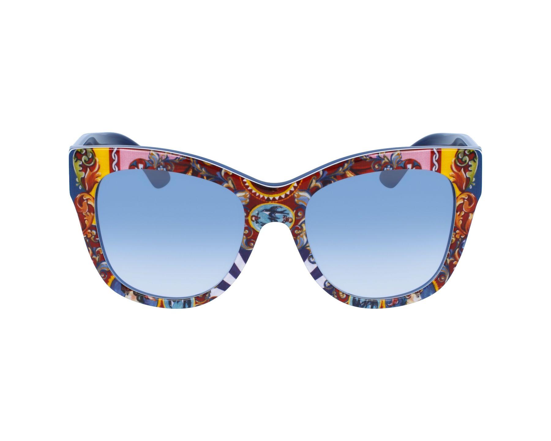 0adb04a33 thumbnail Sunglasses Dolce & Gabbana DG-4270 3036/19 - Red Blue profile view
