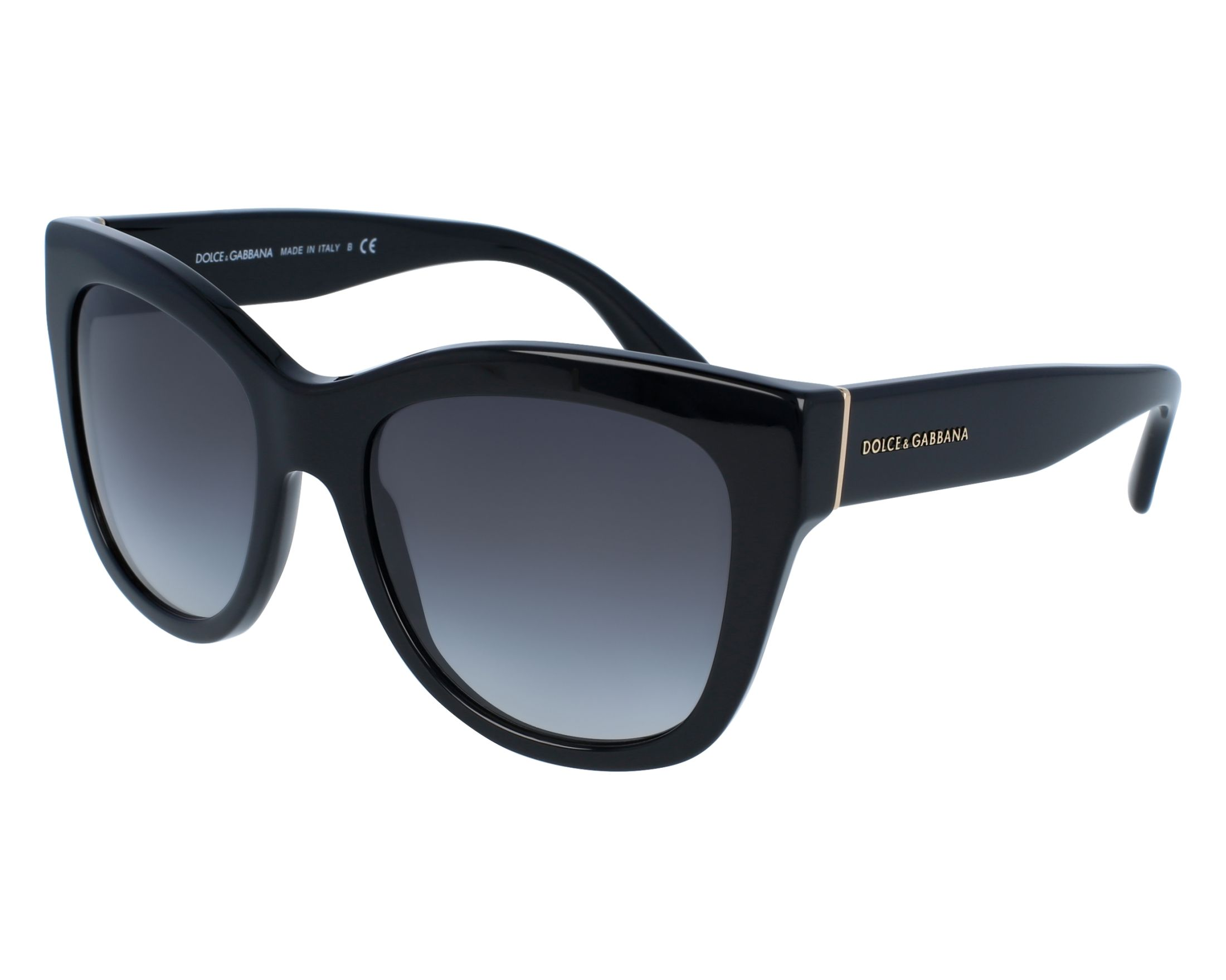 014705a8310 thumbnail Sunglasses Dolce   Gabbana DG-4270 501 8G - Black front view