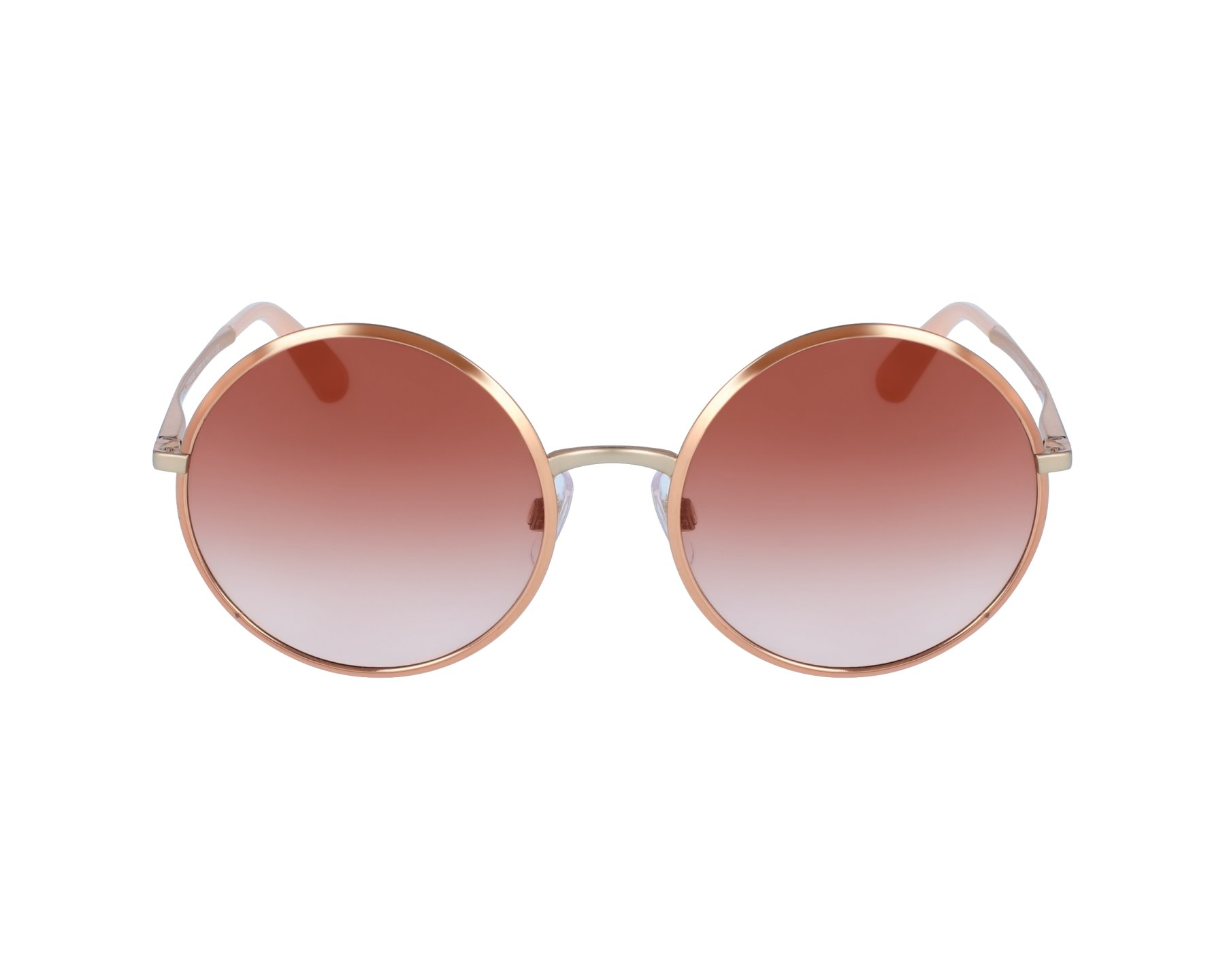 2448a745ef7 Sunglasses Dolce   Gabbana DG-2155 129313 56-20 Rose gold profile view