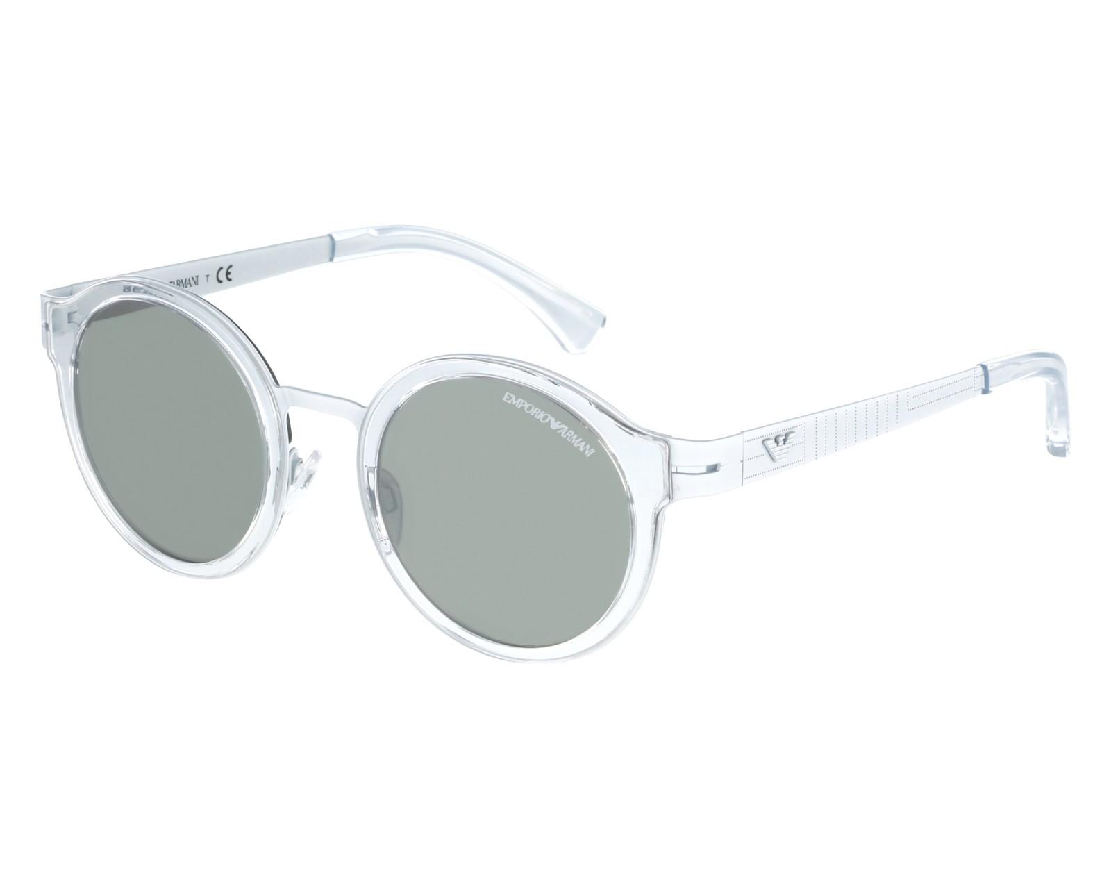 719afa5cb4947 Sunglasses Emporio Armani EA-2029 3107 6G - White Crystal front view