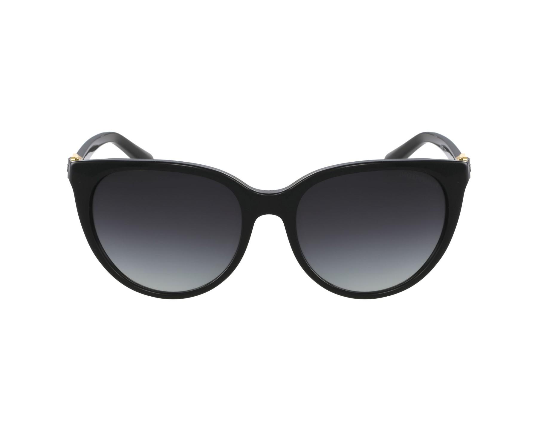 Sunglasses Emporio Armani EA-4057 5017 8G - Black profile view abf9226afa