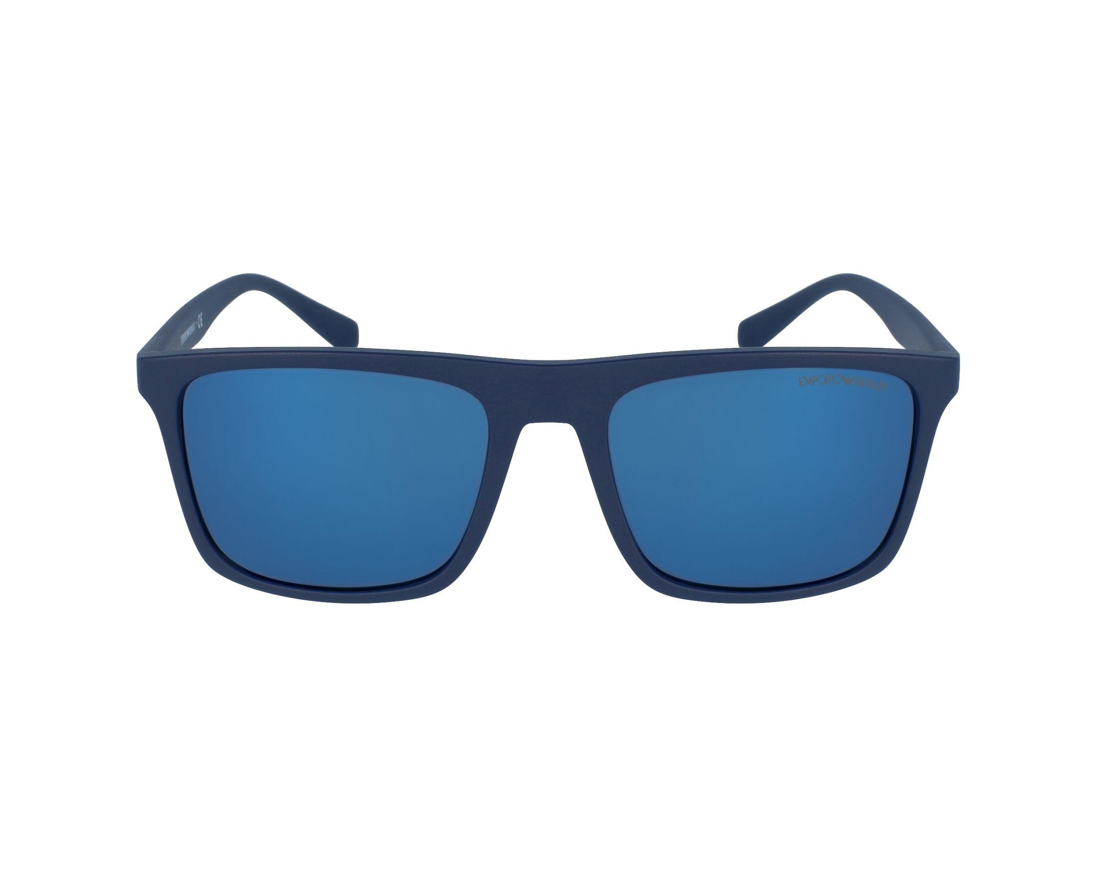 Emporio Armani Sunglasses Blue with Grey Lenses EA-4097 5575/96 ...