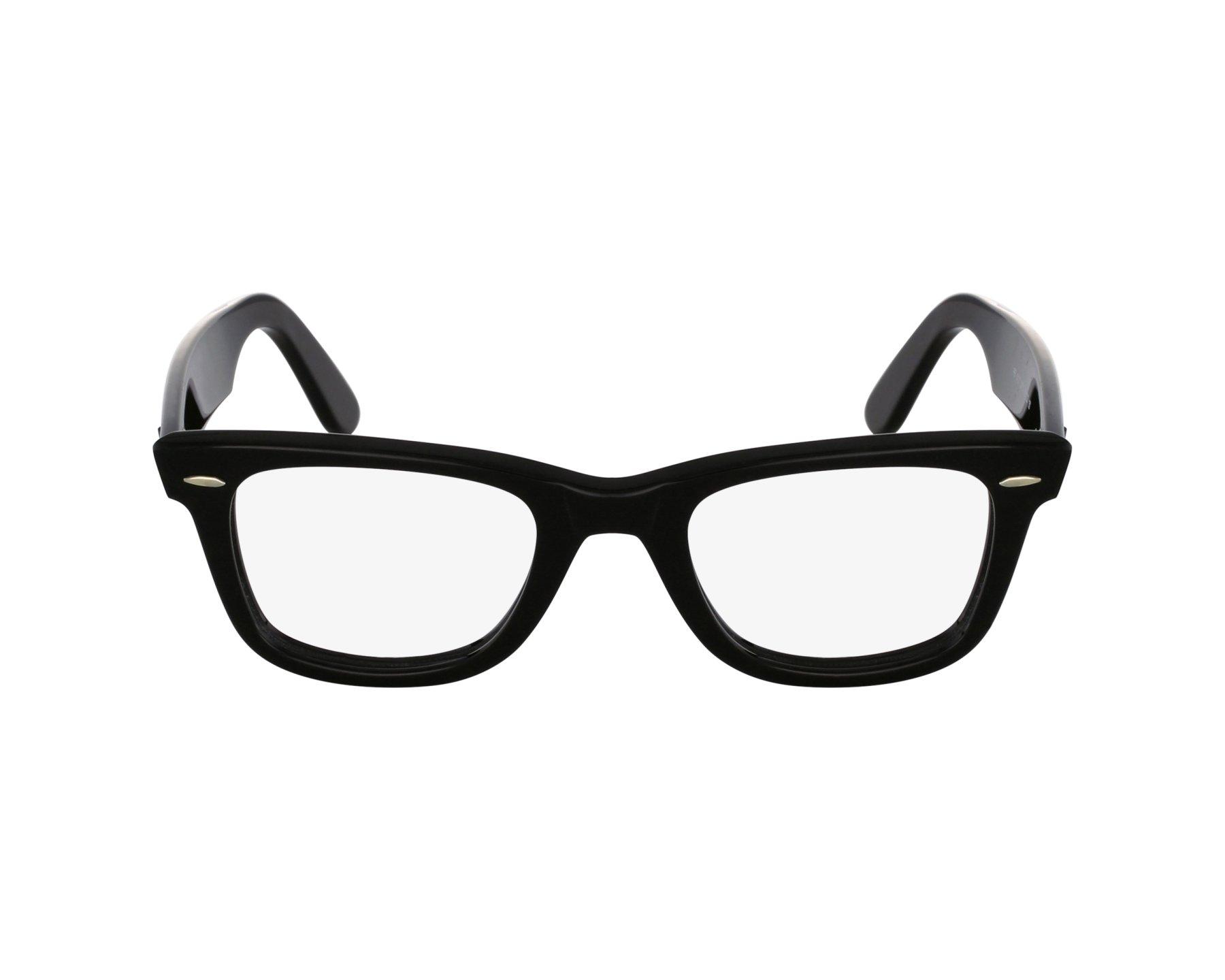 52fb7422ed eyeglasses Ray-Ban RX-5121 2000 47-22 Black profile view