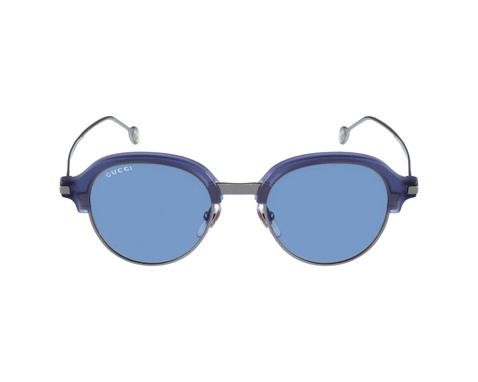 Sunglasses Gucci GG-2259-S MXR/VV - Blue sky Silver profile view
