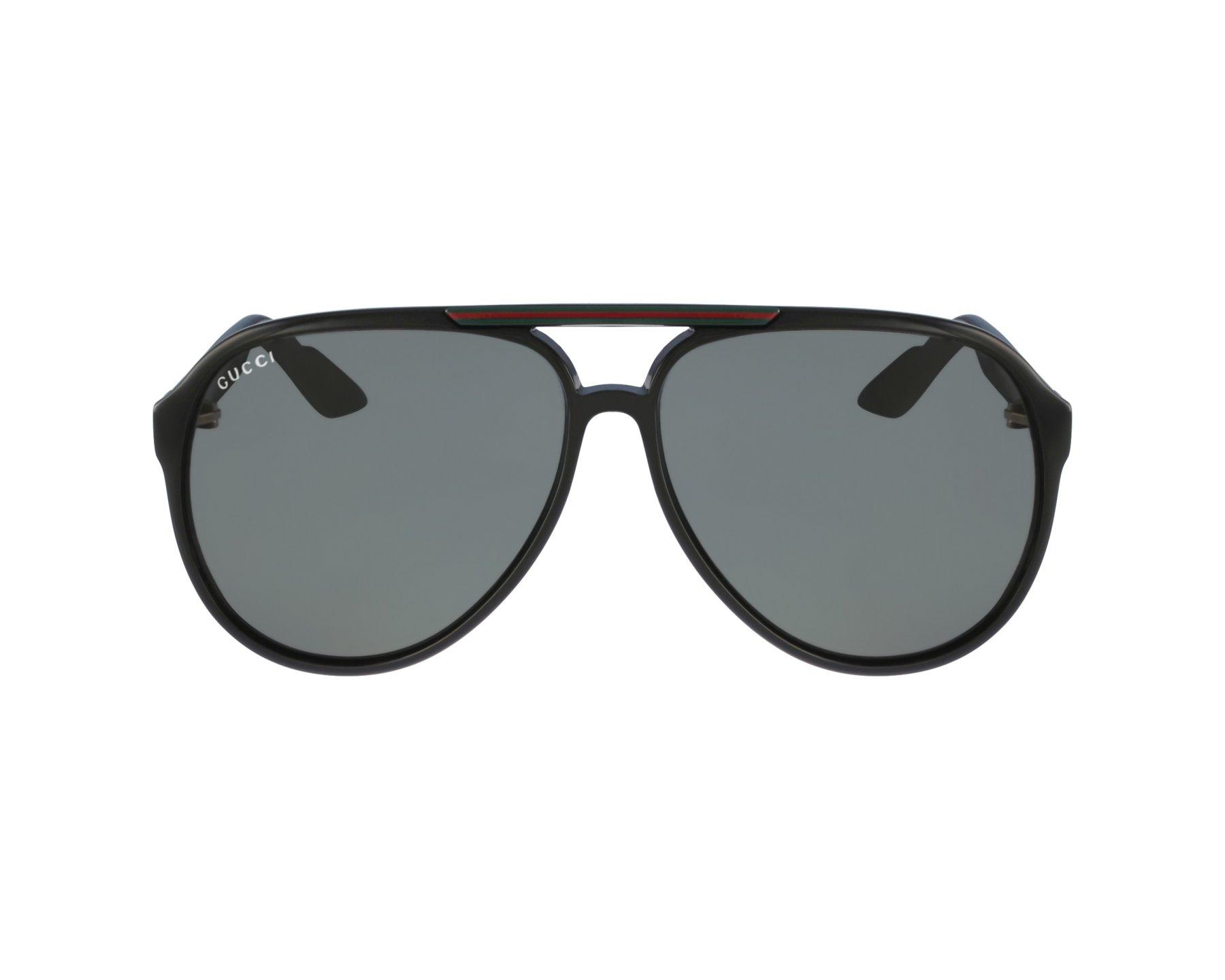 cffbf21a8bc thumbnail Sunglasses Gucci GG-1627-S D28 R6 - Black profile view