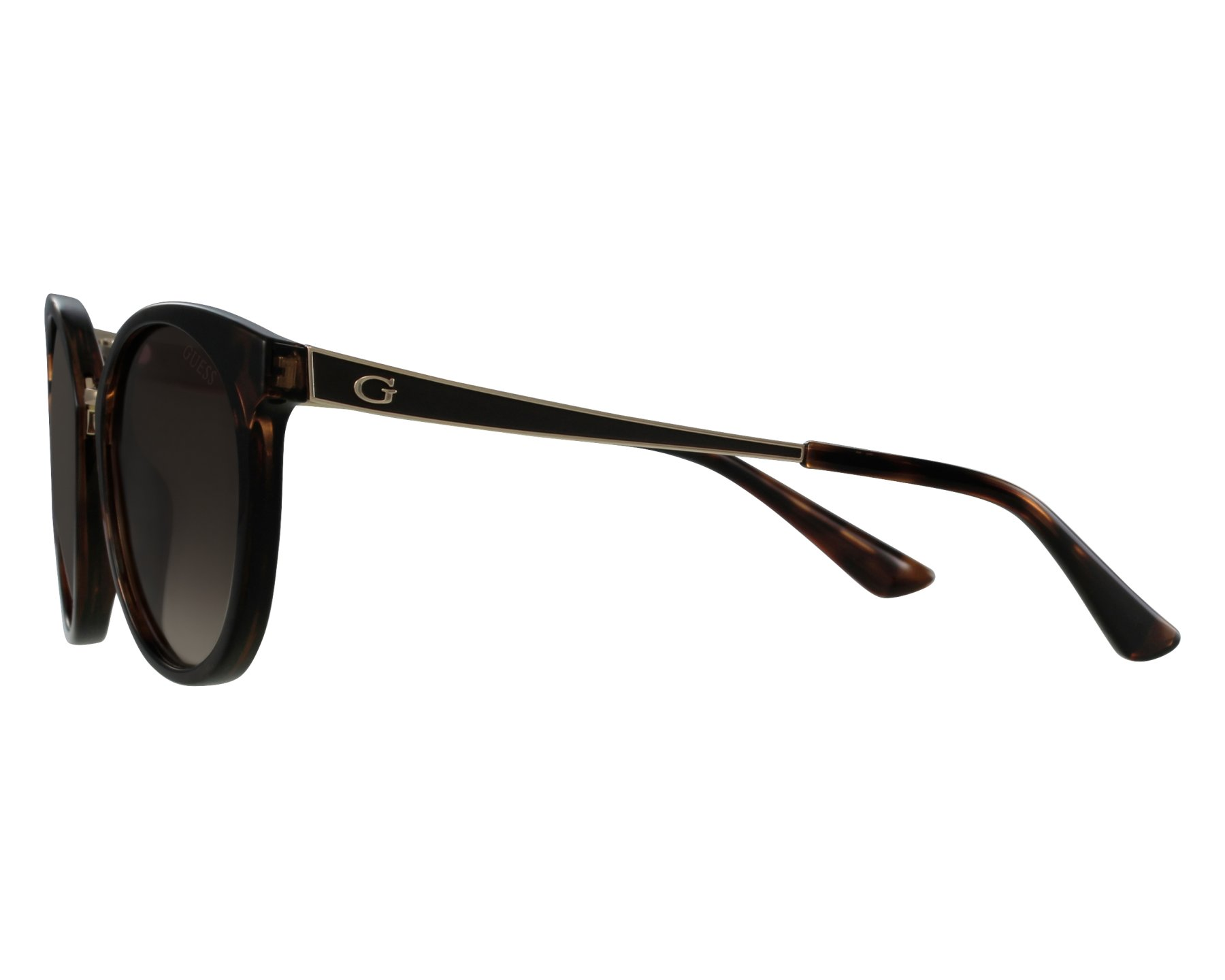7ee968a98ab Sunglasses Guess GU-7459 52F 52-20 Havana front view