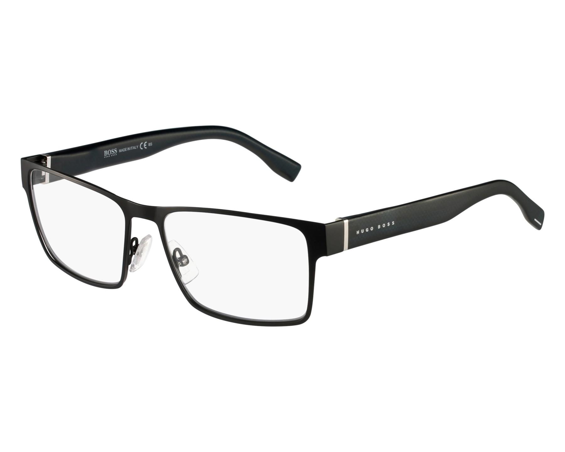 Hugo Boss Eyeglasses Black BOSS-0730 K9B - Visionet US