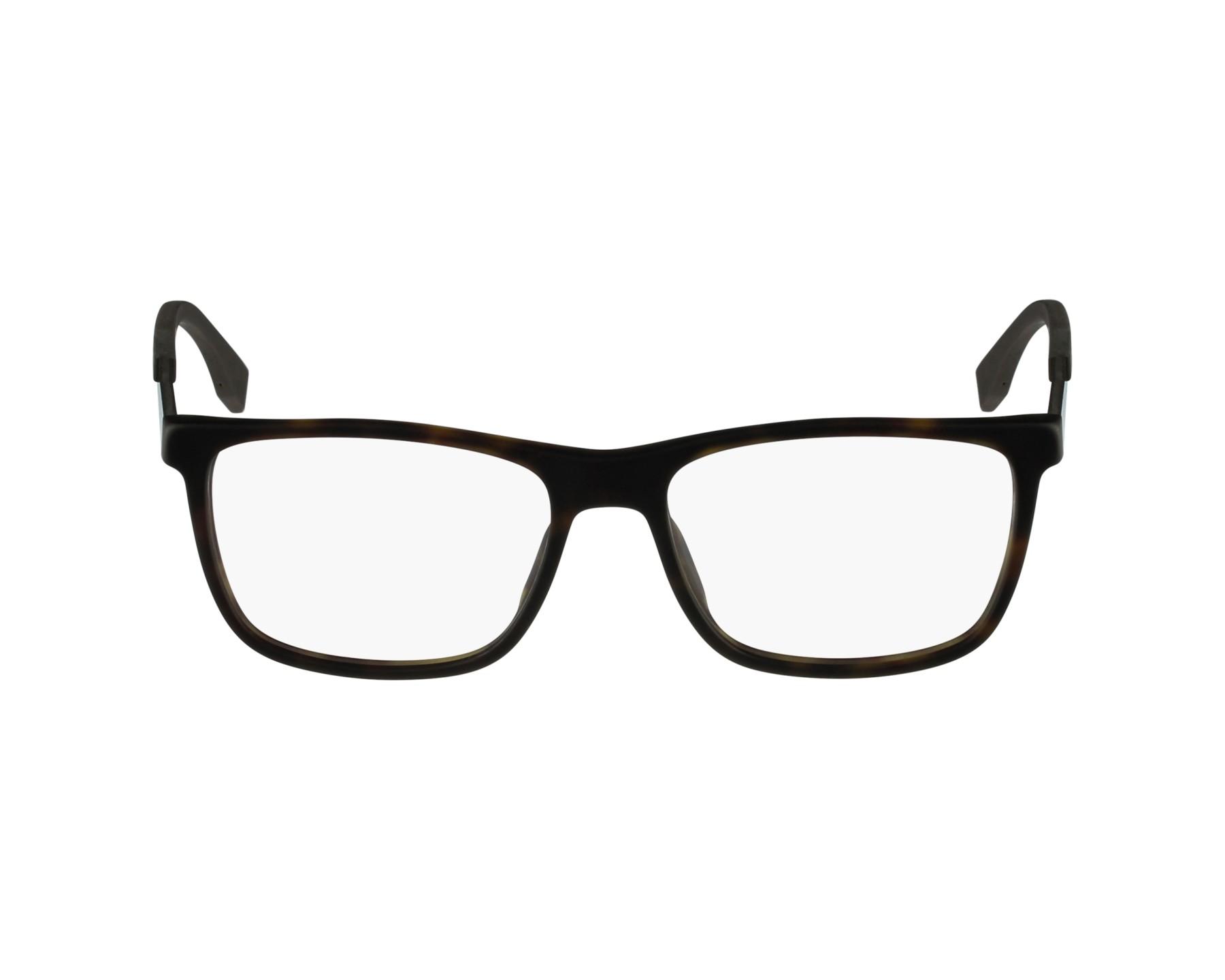 c69dd92272 eyeglasses Hugo Boss BOSS-0733 KD2 54-17 Havana Carbon profile view