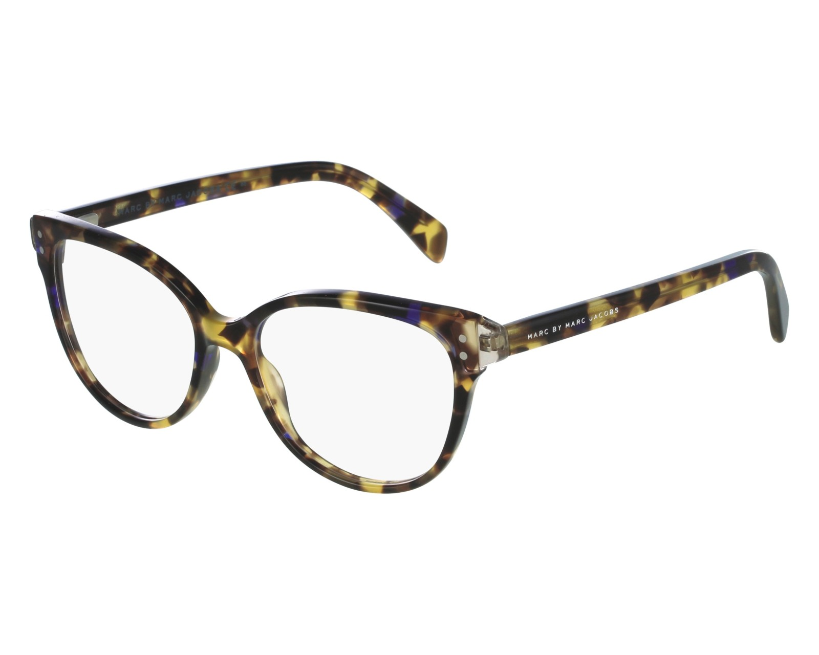 ae47058e3c70f eyeglasses Marc by Marc Jacobs MMJ-632 A8T - Brown Purple front view