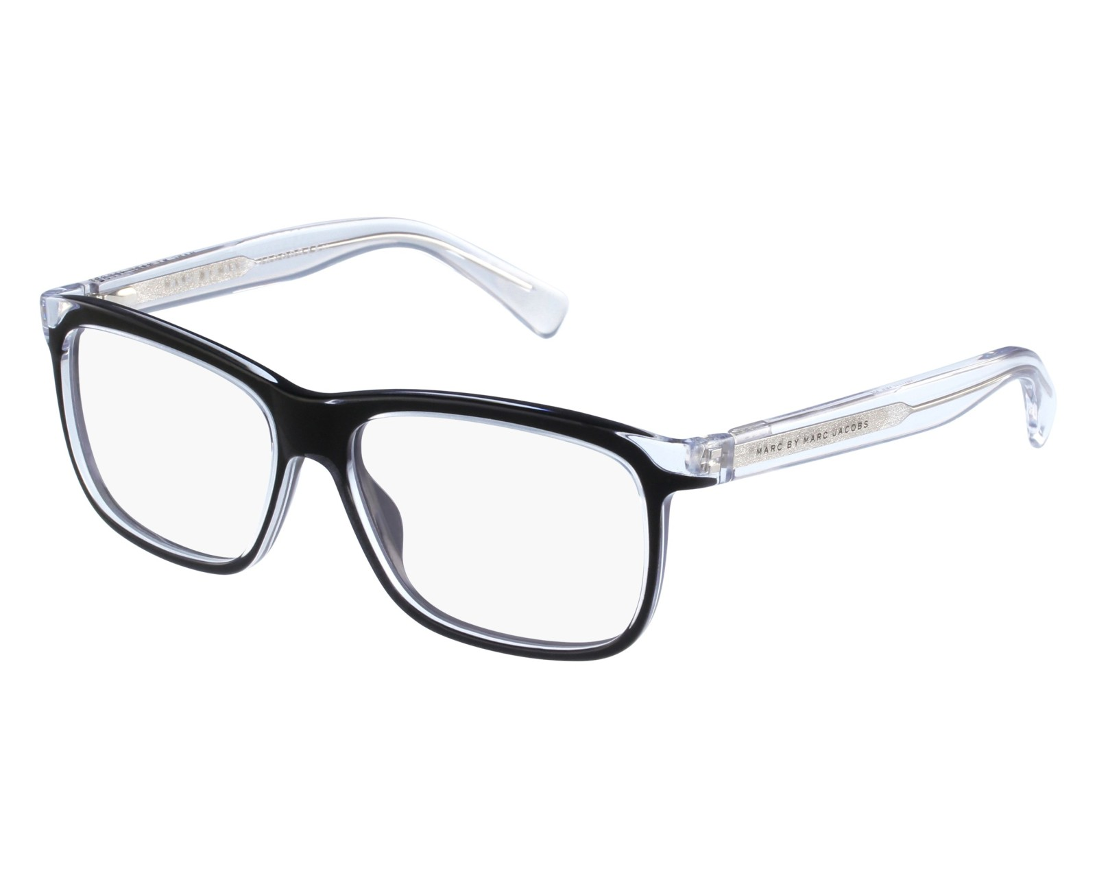 2d9089026c2 eyeglasses Marc by Marc Jacobs MMJ-615 MHL - Black Crystal front view