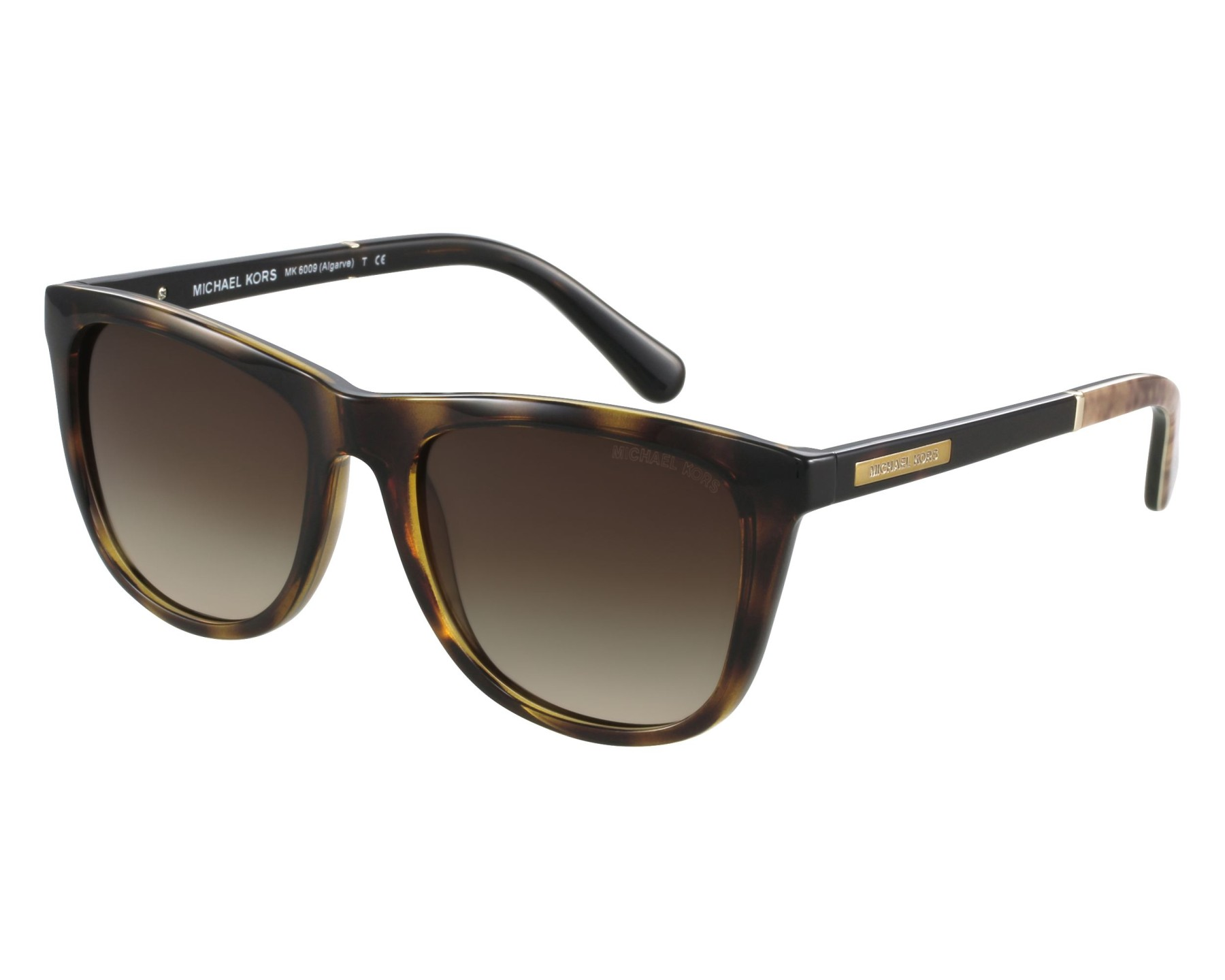 f90abd081edaf Sunglasses Michael Kors MK-6009 301013 - Havana front view
