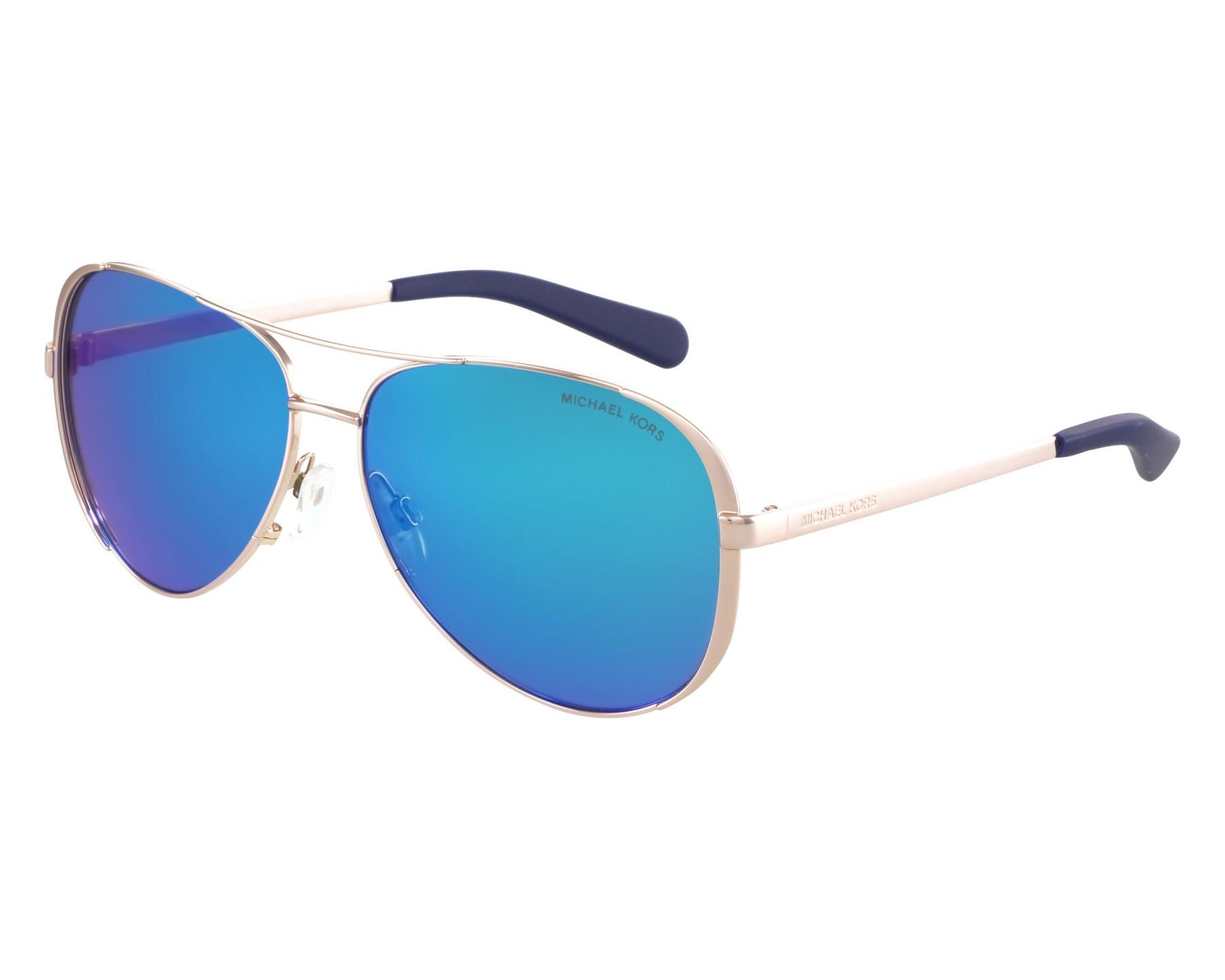 24e8af8f81b Sunglasses Michael Kors MK-5004 100325 - Gold front view