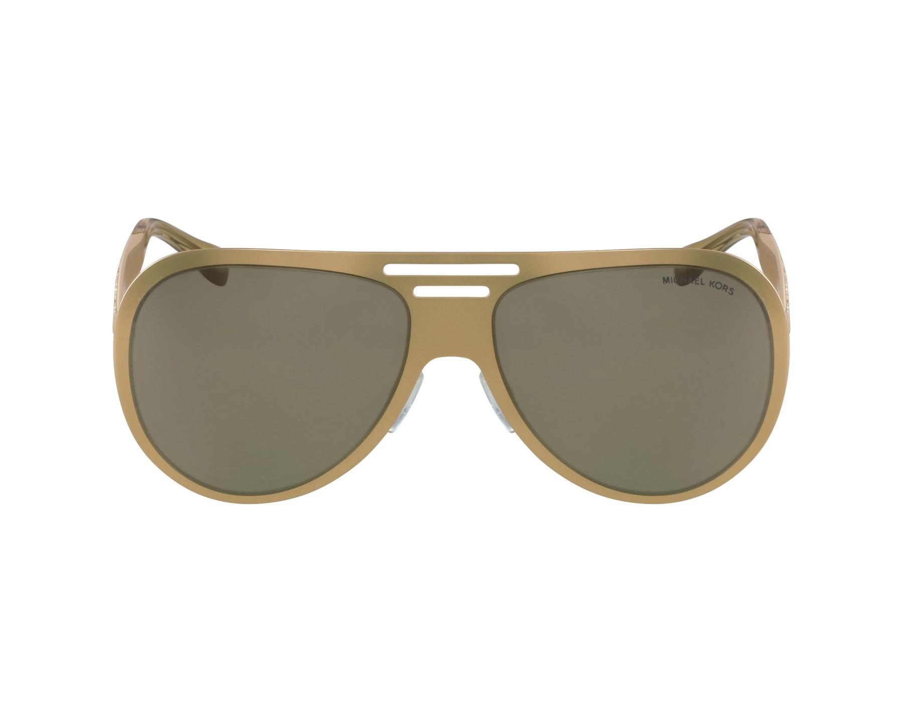 28e48316a760 Sunglasses Michael Kors MK-5011 1062R5 - Gold profile view