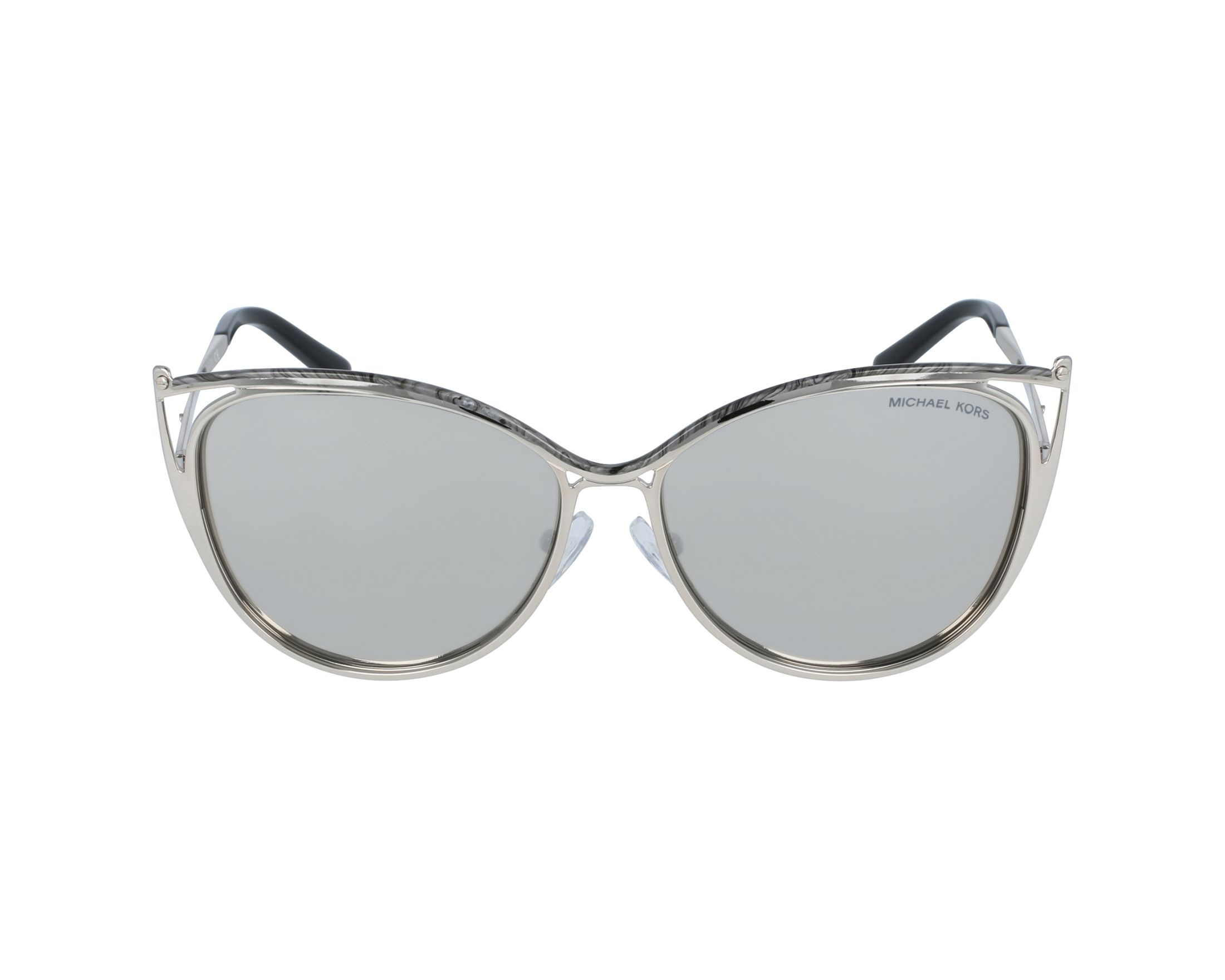 Sunglasses Michael Kors MK-1020 11666G 56-14 Silver profile view 357ddadeab82