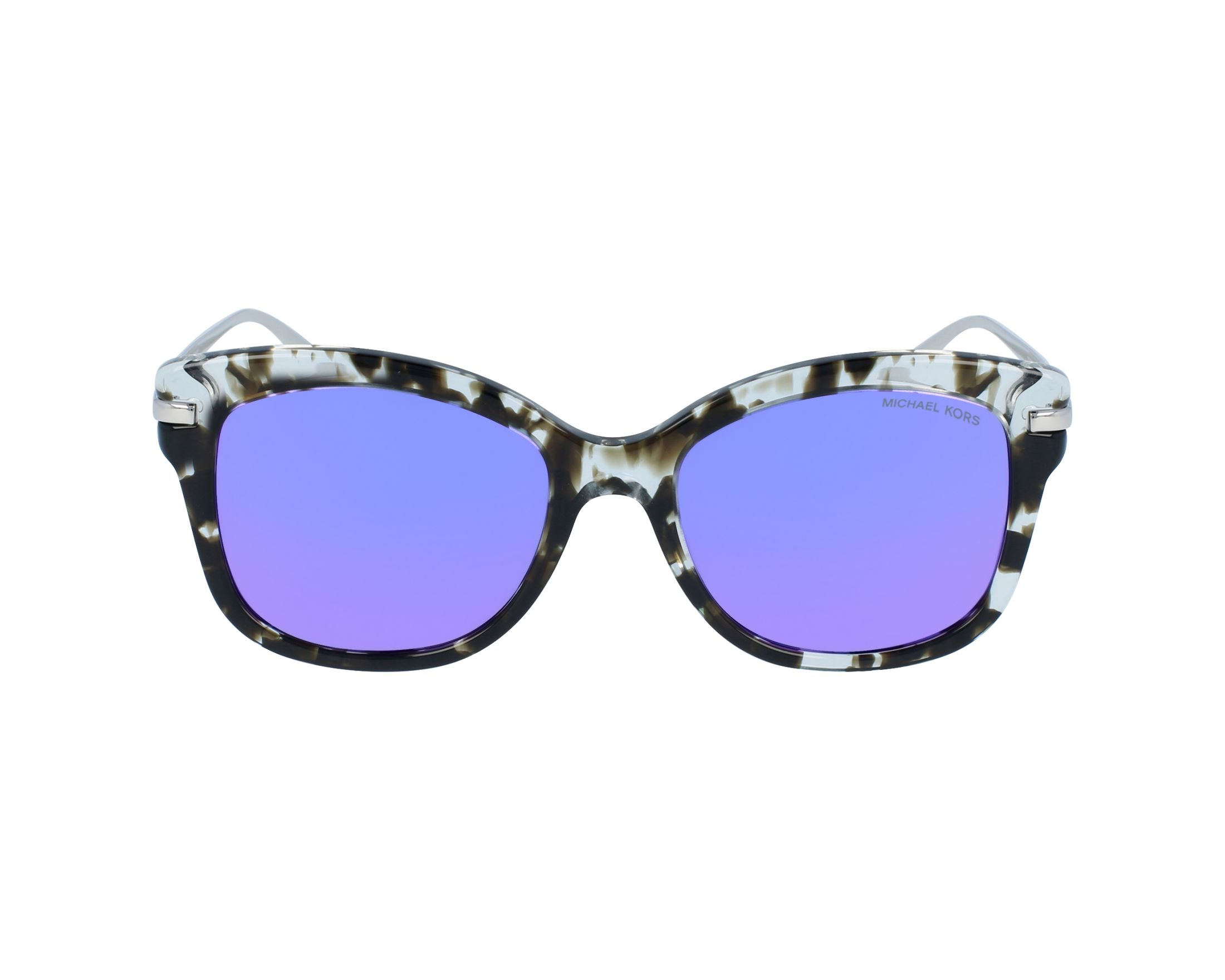 2bf33e4365 Sunglasses Michael Kors MK-2047 32434V 53-18 Crystal Silver profile view