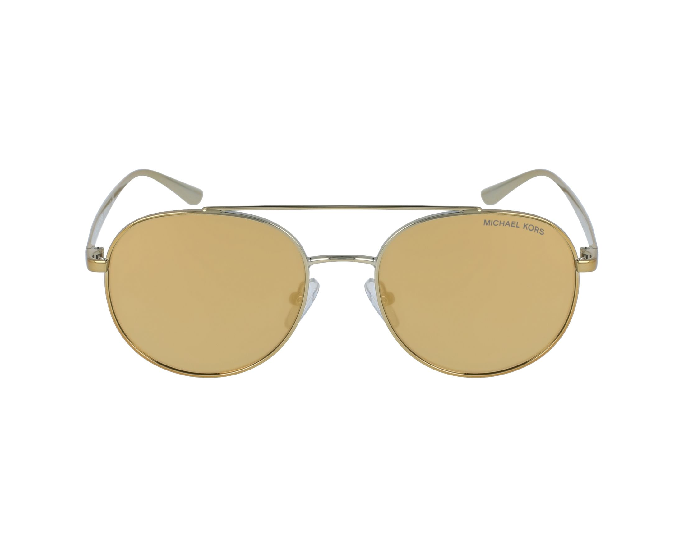 9365e14909b Sunglasses Michael Kors MK-1021 11687P 53-18 Gold profile view