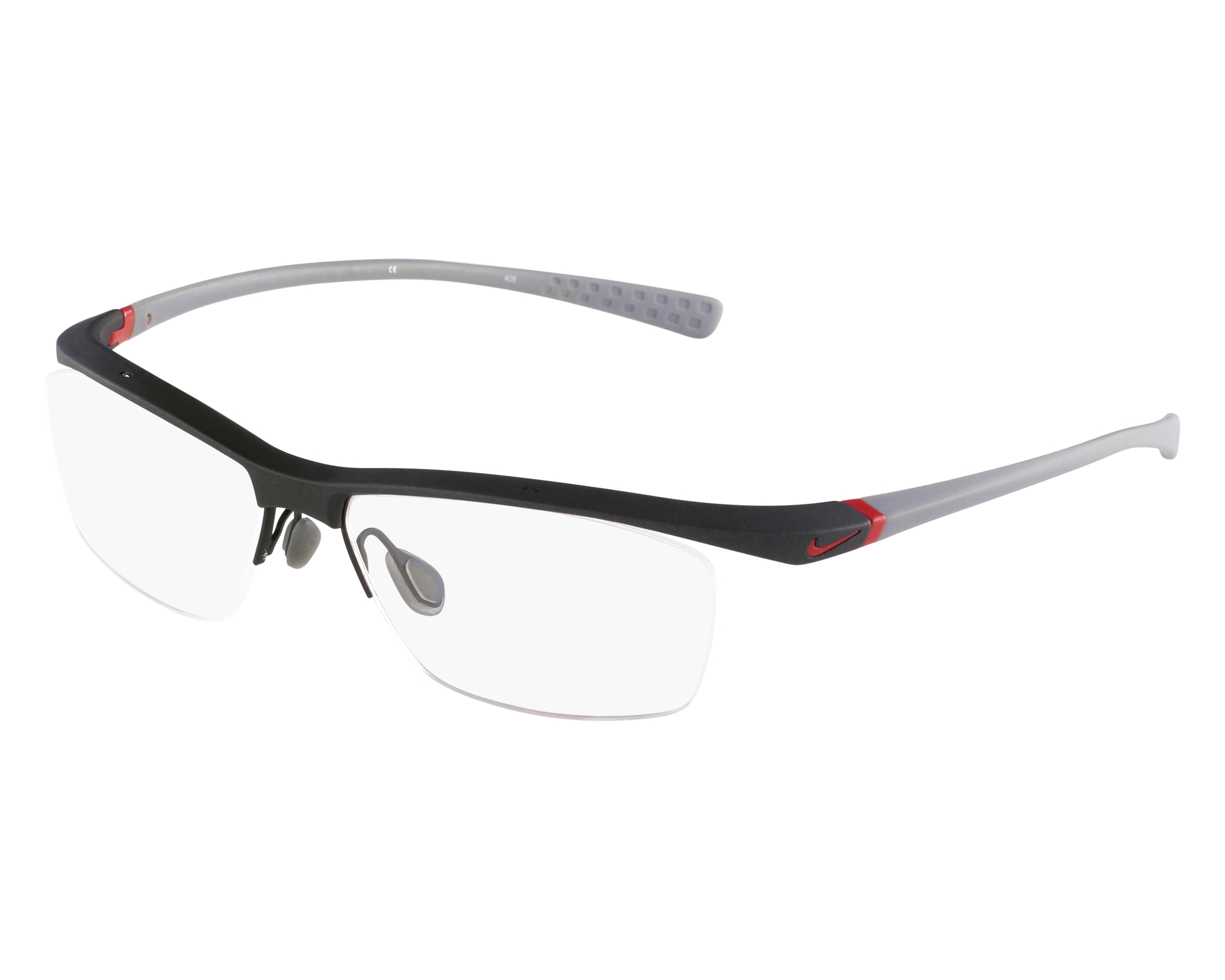 fb1fada097 eyeglasses Nike 7070-1 060 - Grey Grey front view