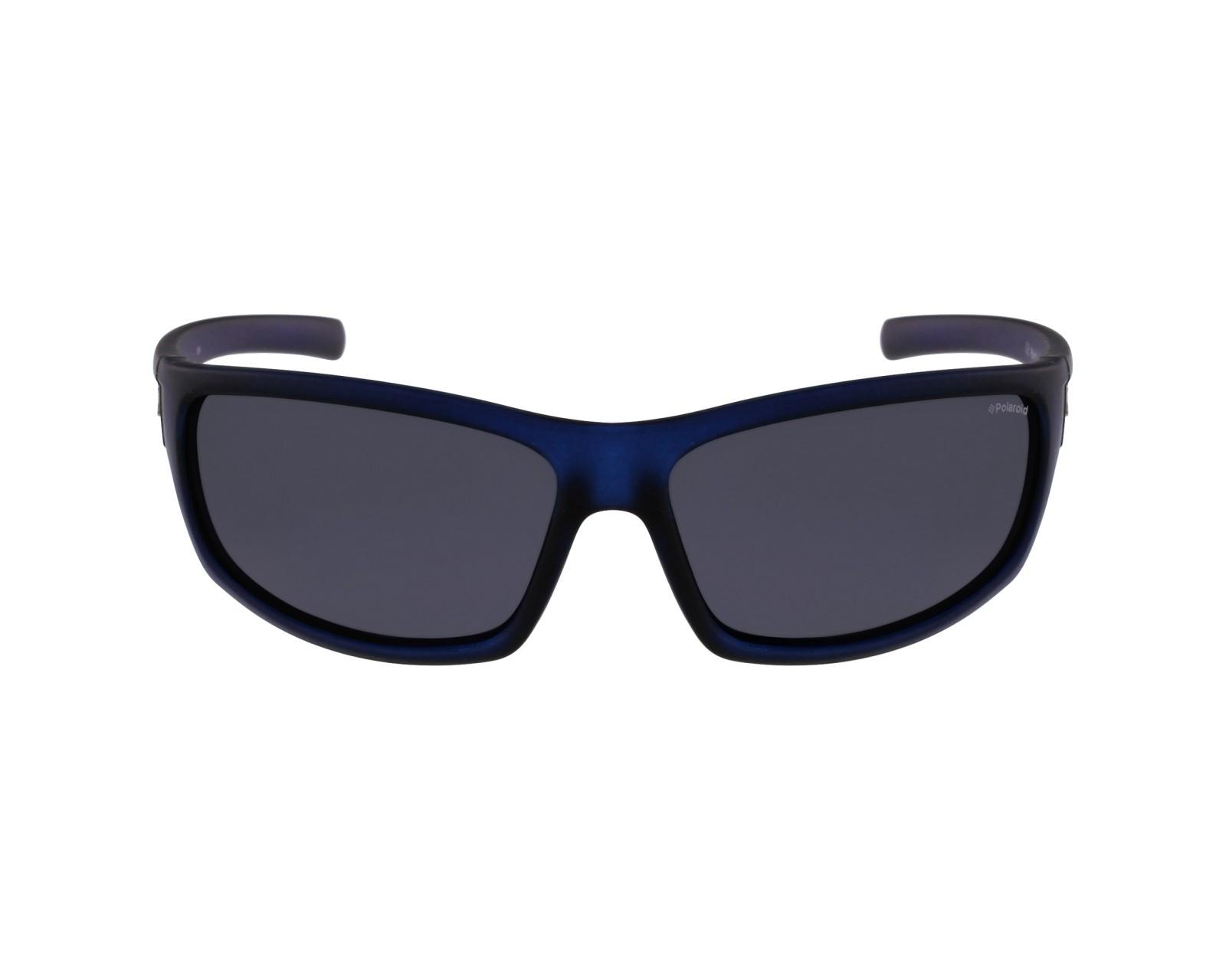 Sunglasses Polaroid P-8411 148 Y2 - Blue profile view 9fb75c9152