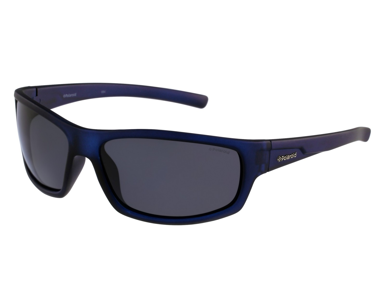 Sunglasses Polaroid P-8411 148 Y2 - Blue front view aaa75fd077