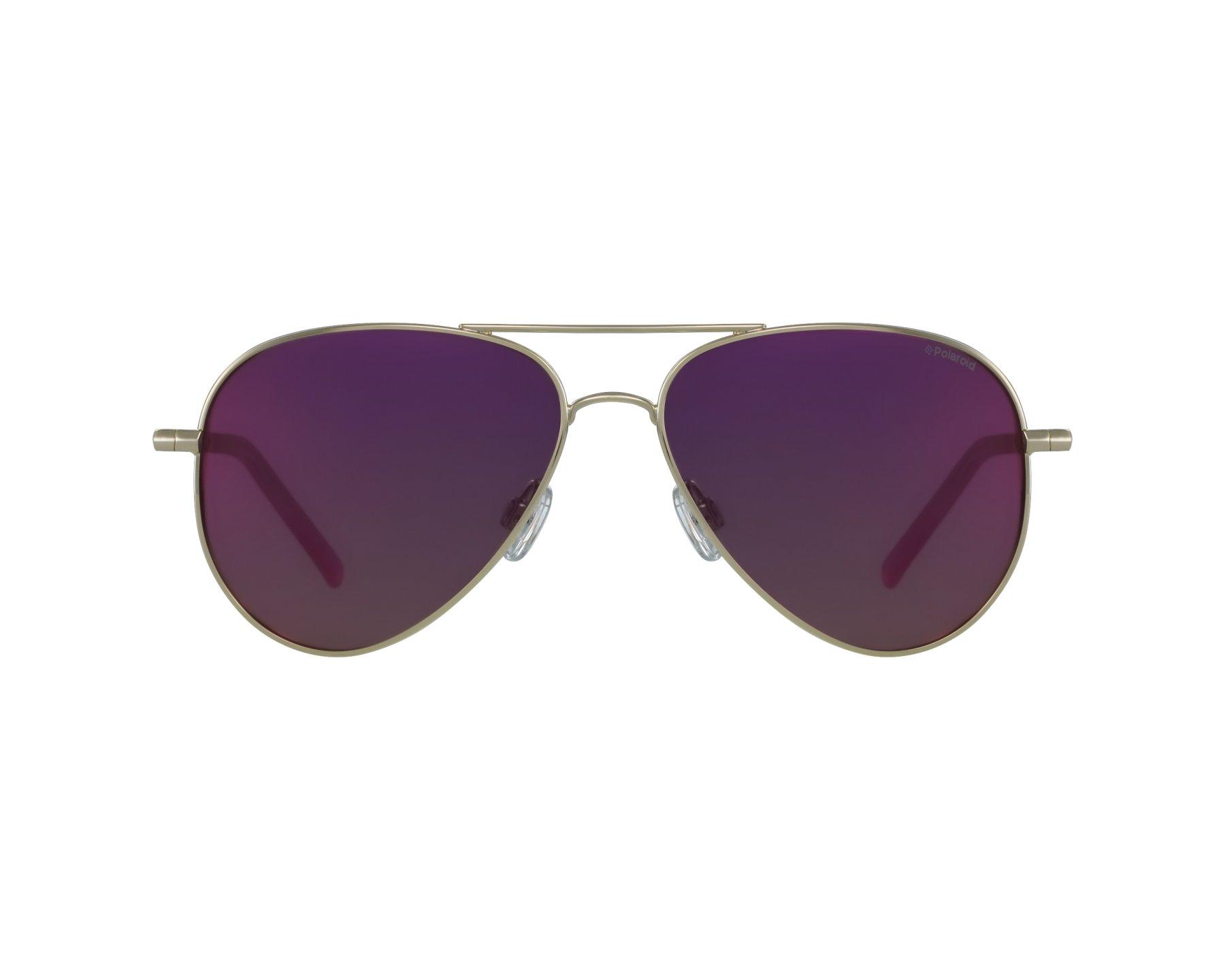 Polaroid Sunglasses PLD 6012//N Gold J5GAI Purple  Polarized