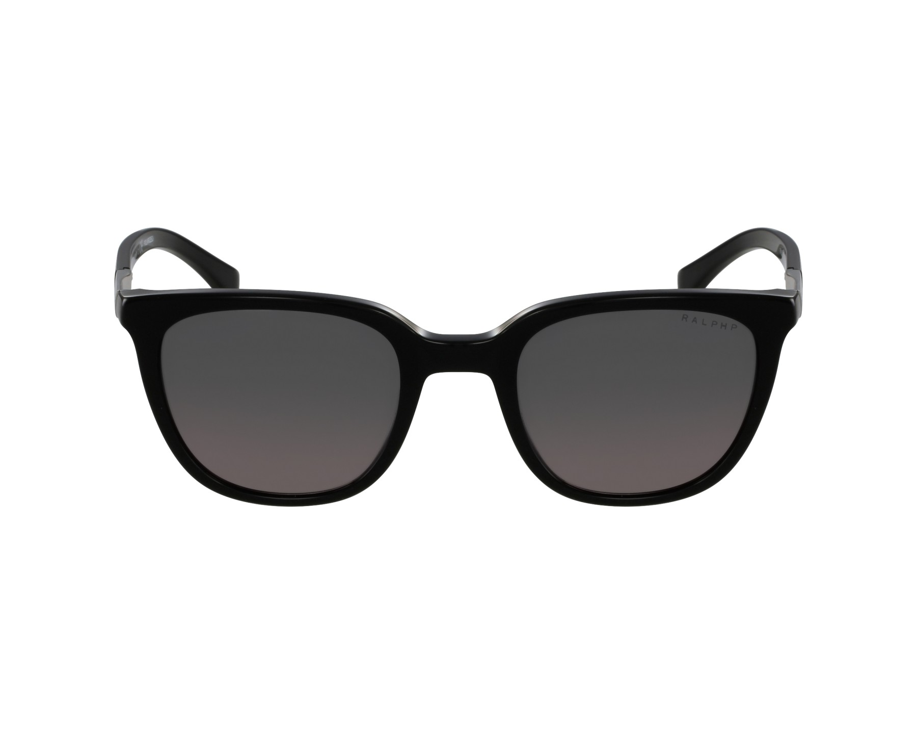 9f1a199a8c Polarized. Sunglasses Ralph by Ralph Lauren RA-5206 137762 51-20 Black  Silver profile view
