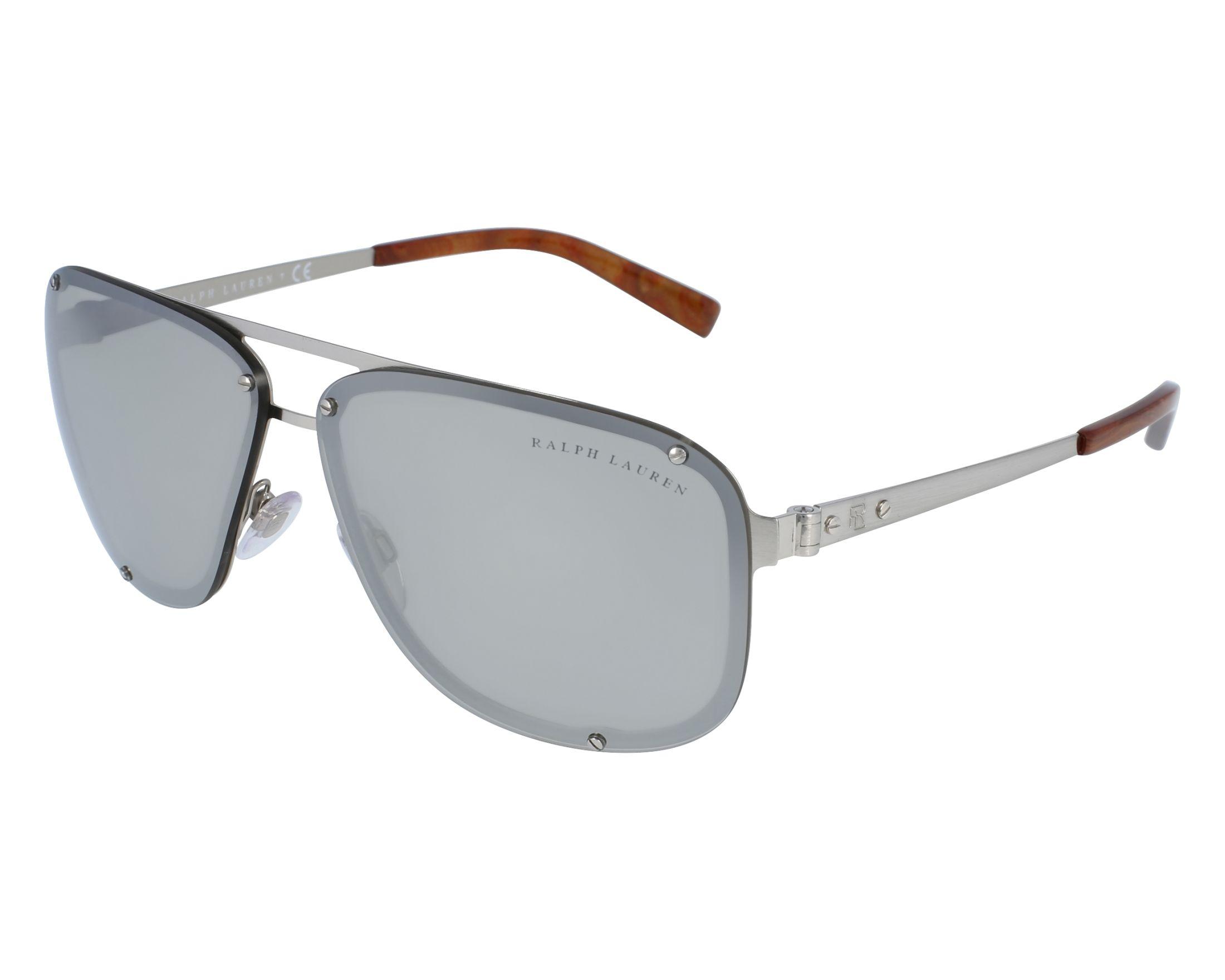 Sunglasses Ralph Lauren RL-7055 9030 6G 64-10 Silver front view 5aaa5d52f52e