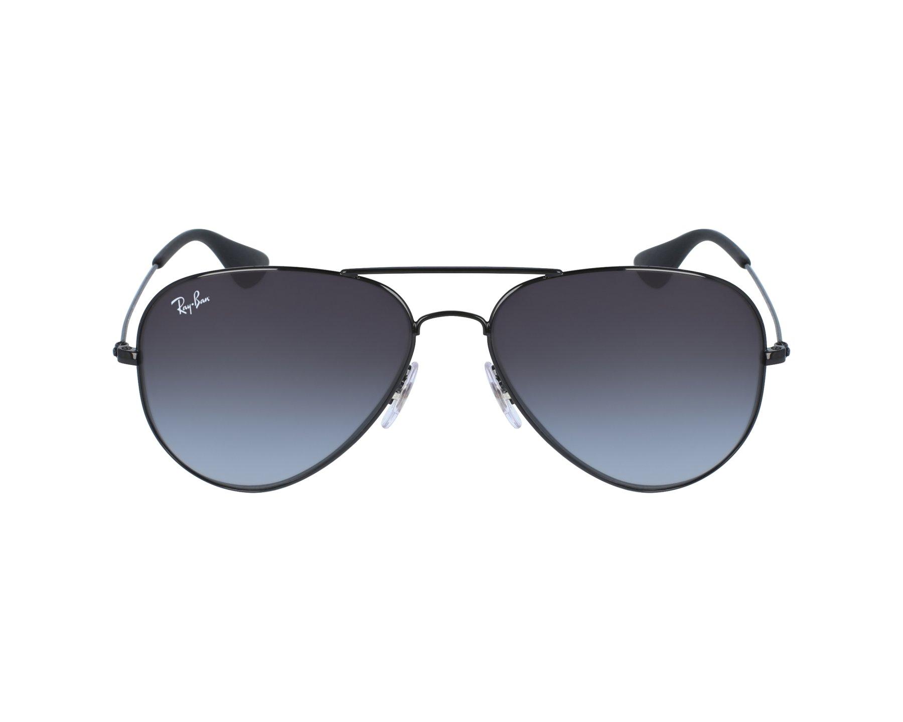 e44e766b66 Sunglasses Ray-Ban RB-3558 002 8G 58-14 Black profile view