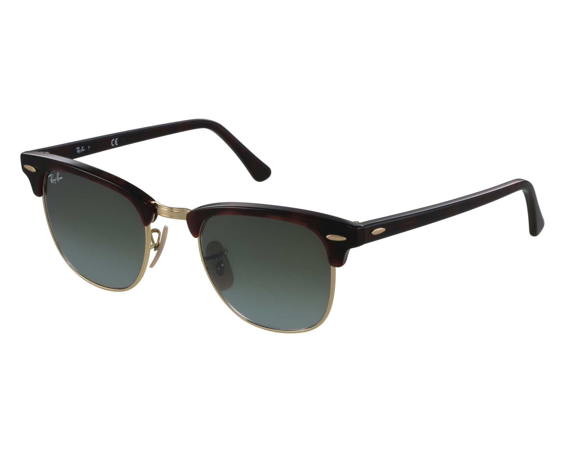 Sunglasses Ray-Ban RB-3016 990 9J 49-21 Havana Gold front 111388f207