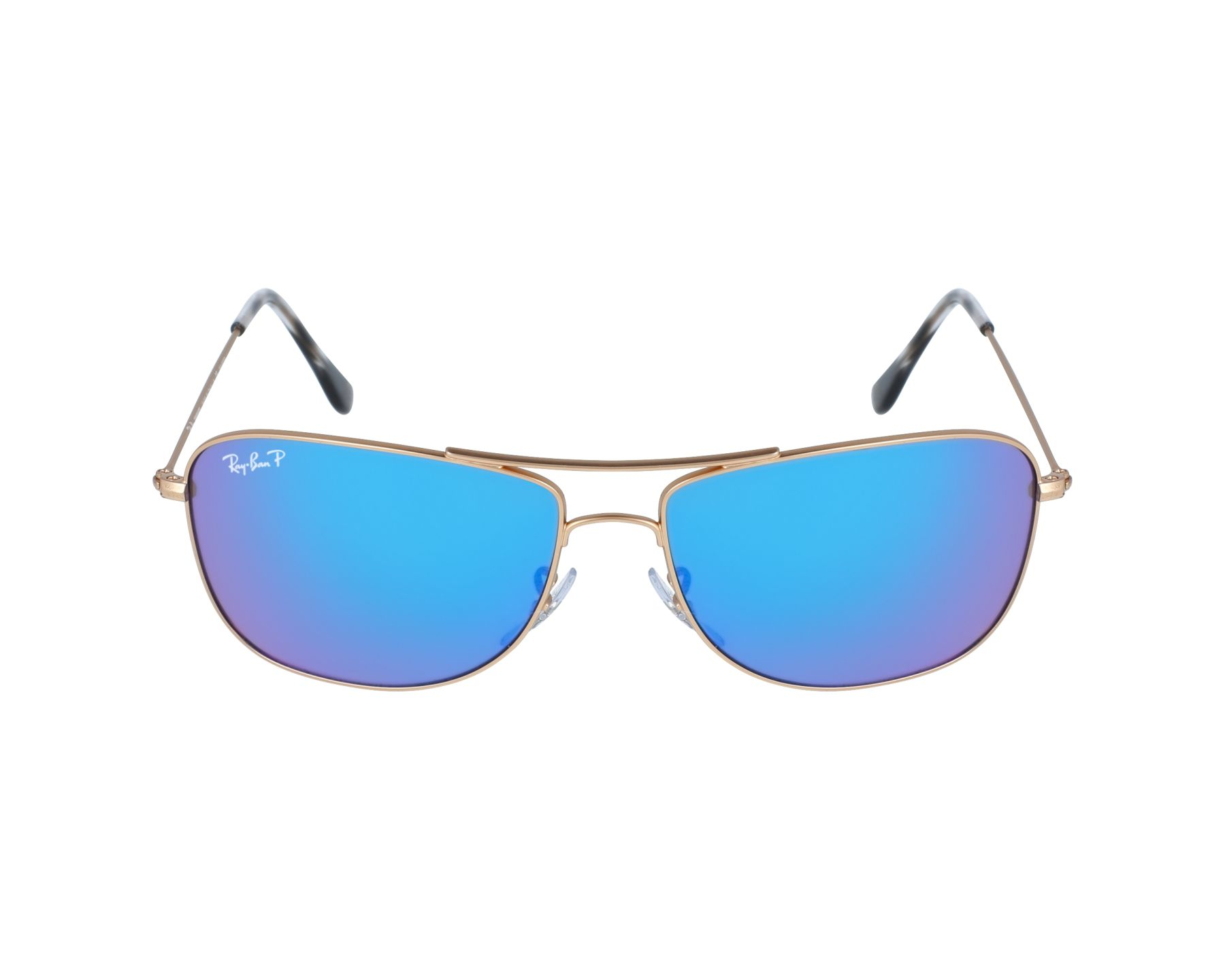 760557012f4 Sunglasses Ray-Ban RB-3543 112 A1 59-16 Gold profile view