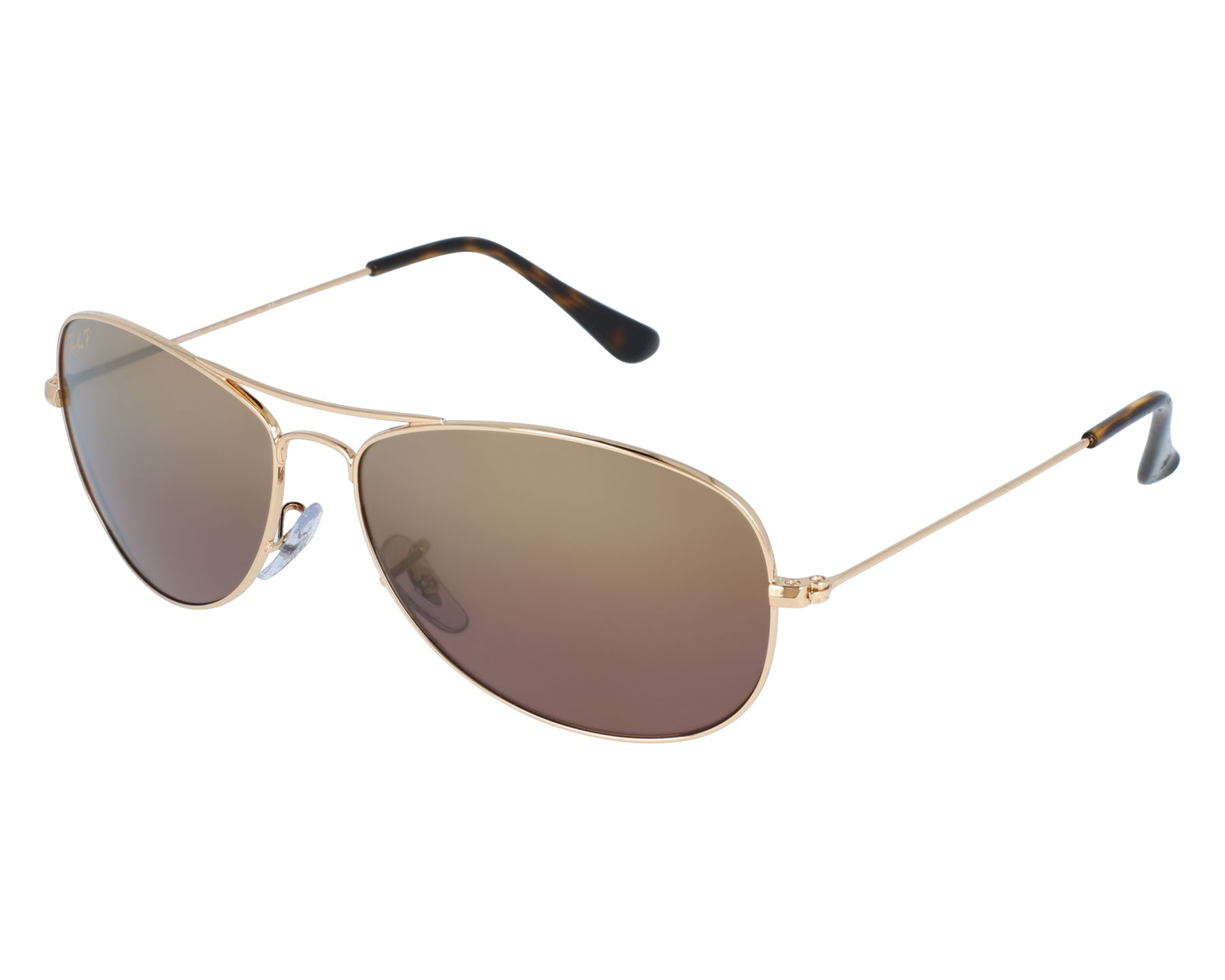 3b51cec61d Sunglasses Ray-Ban RB-3562 001 6B 59-14 Gold front view