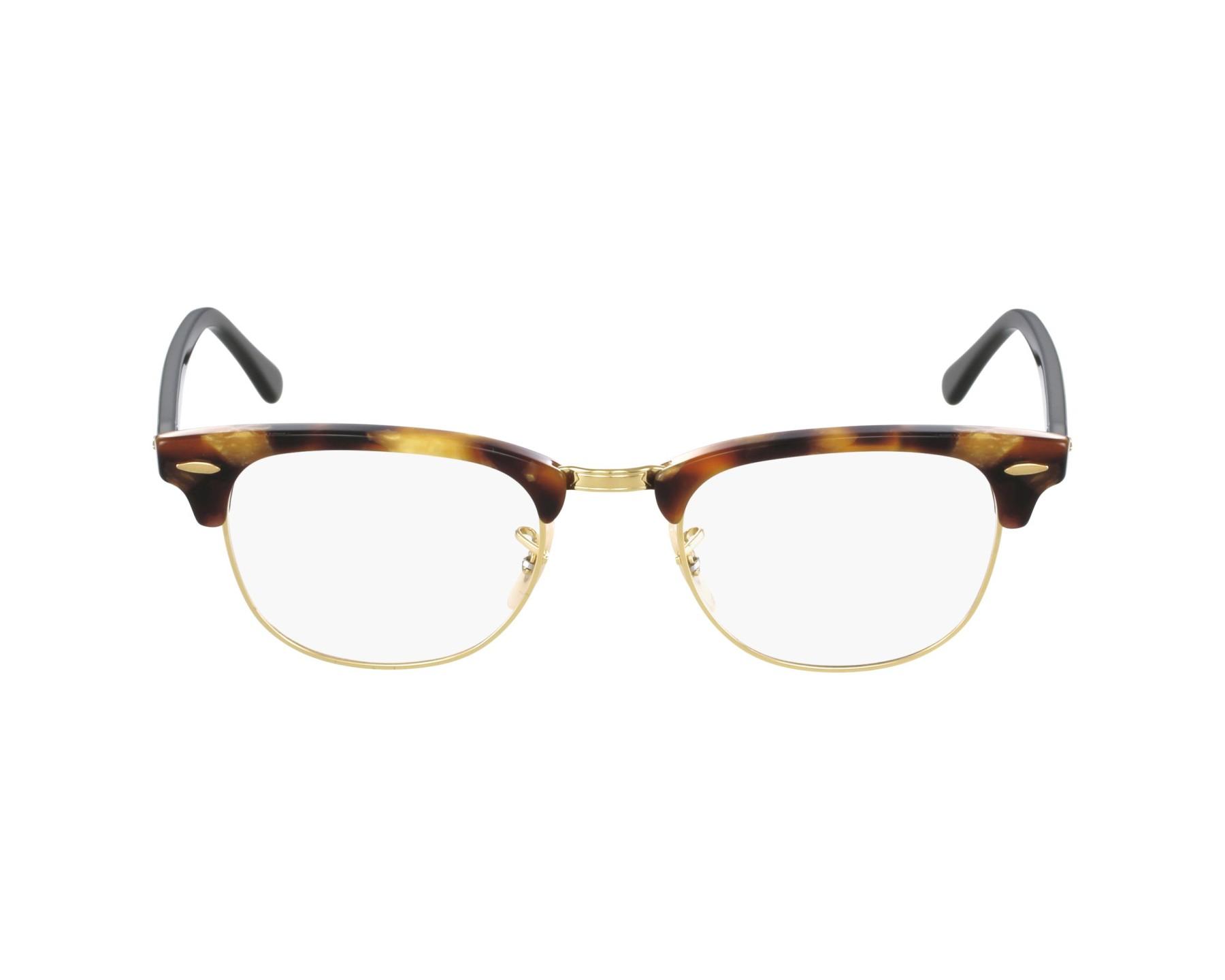 eyeglasses Ray-Ban RX-5154 5494 49-21 Havana Gold profile view 42f3bf0d60d