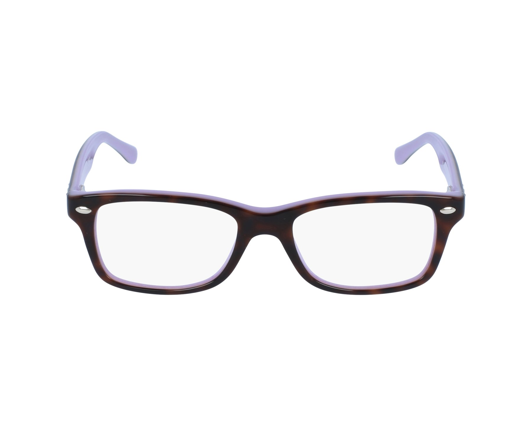 59a0c16a48cc36 eyeglasses Ray-Ban RY-1531 3700 48-16 Tortoise Purple profile view