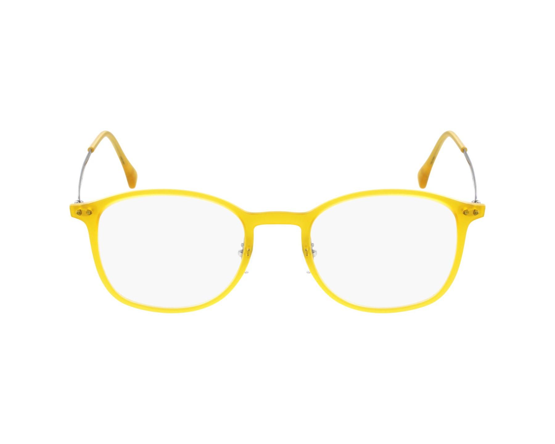 da78683b3e eyeglasses Ray-Ban RX-7051 5519 - Yellow profile view